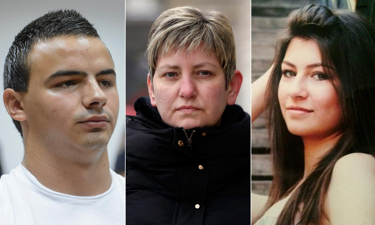 David Komšić, Vesna Krupljan, Kristina Krupljan