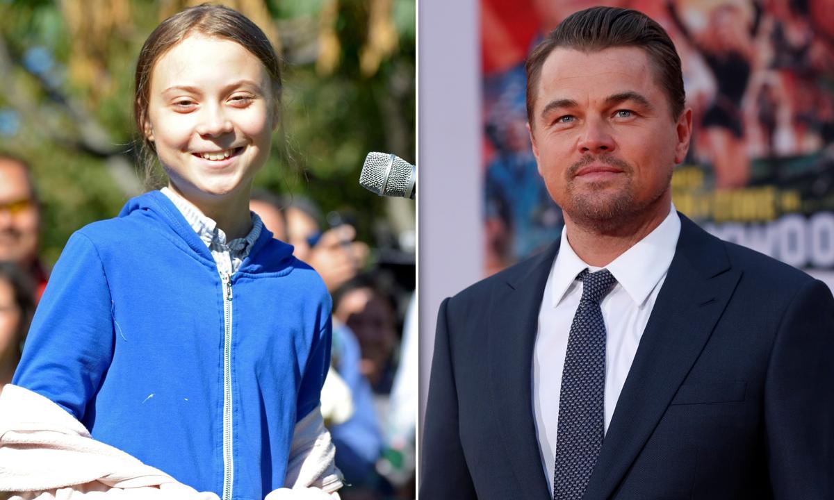 Greta Thunberg i Lonardo DiCaprio