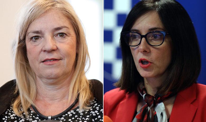 Helenca Pirnat Dragičević i Blaženka Divjak