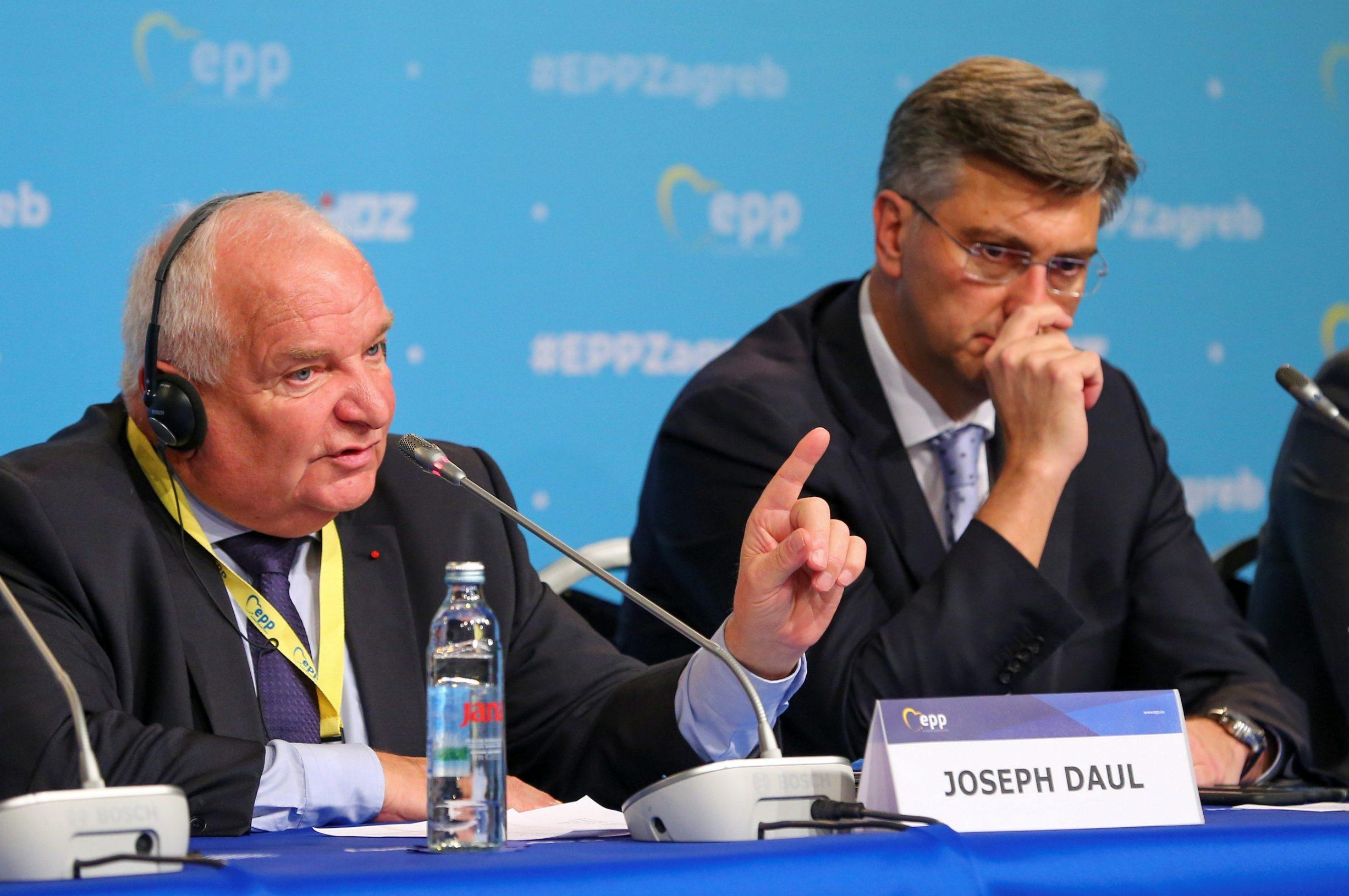 Joseph Daul, Andrej Plenković