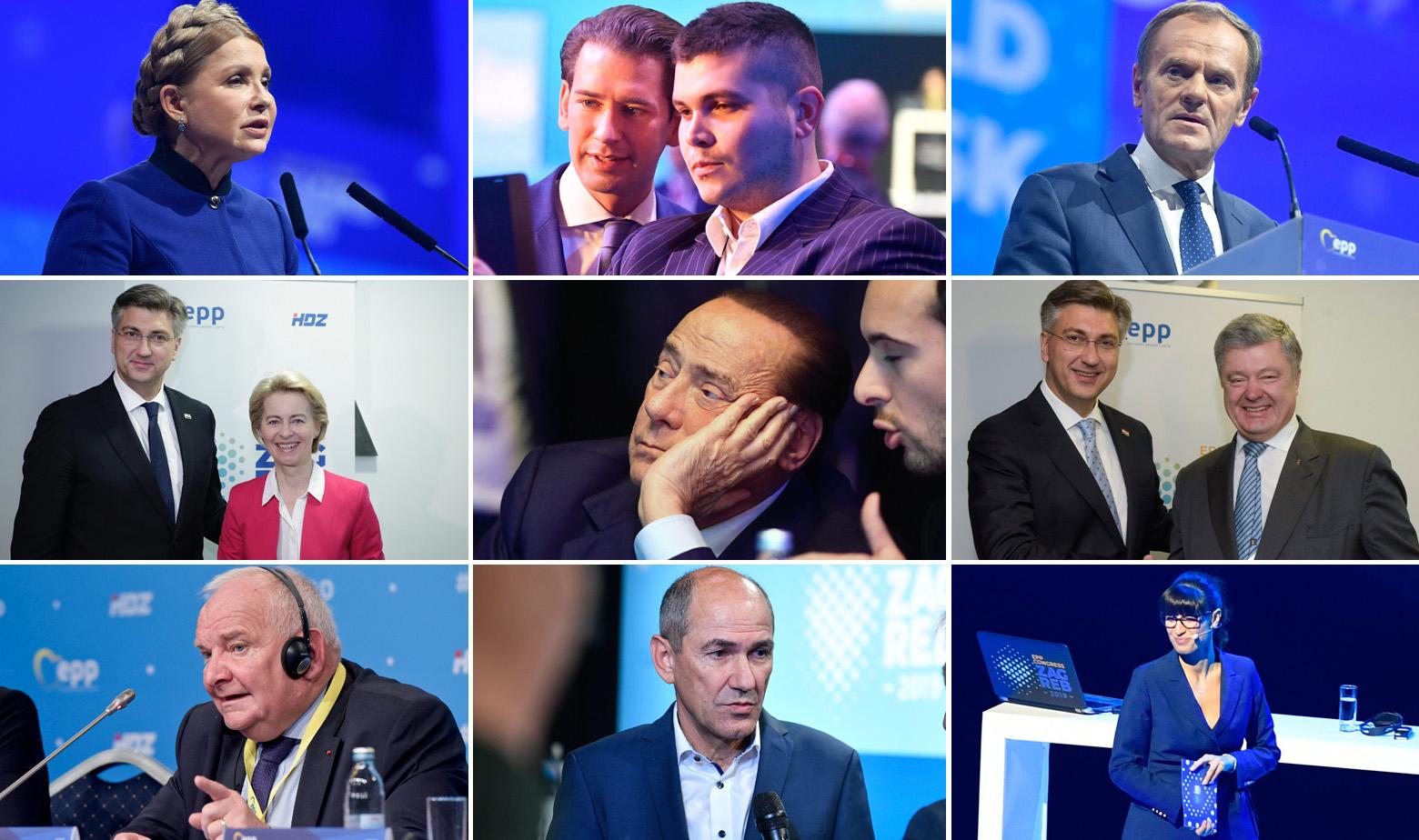 Političari EPP-a u Zagrebu