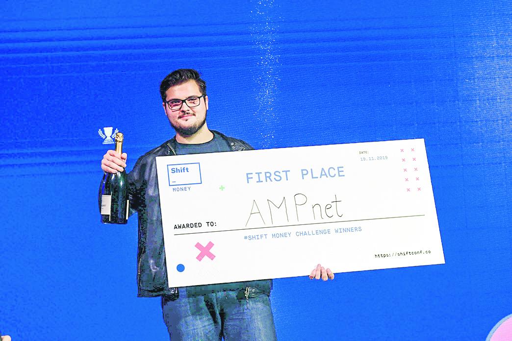 Mislav Javor, osnivač blockchain startupa AMPnet