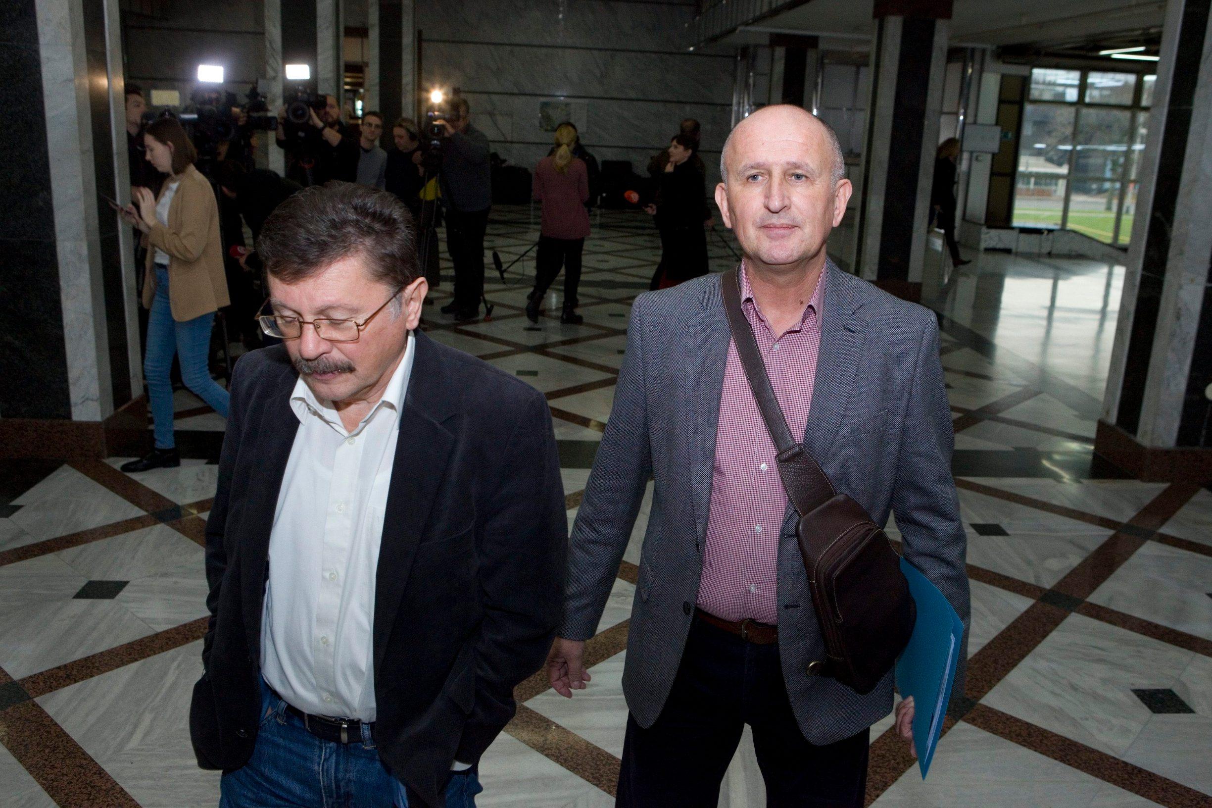 Na fotografiji: Vilim Ribić, Igor Radeka