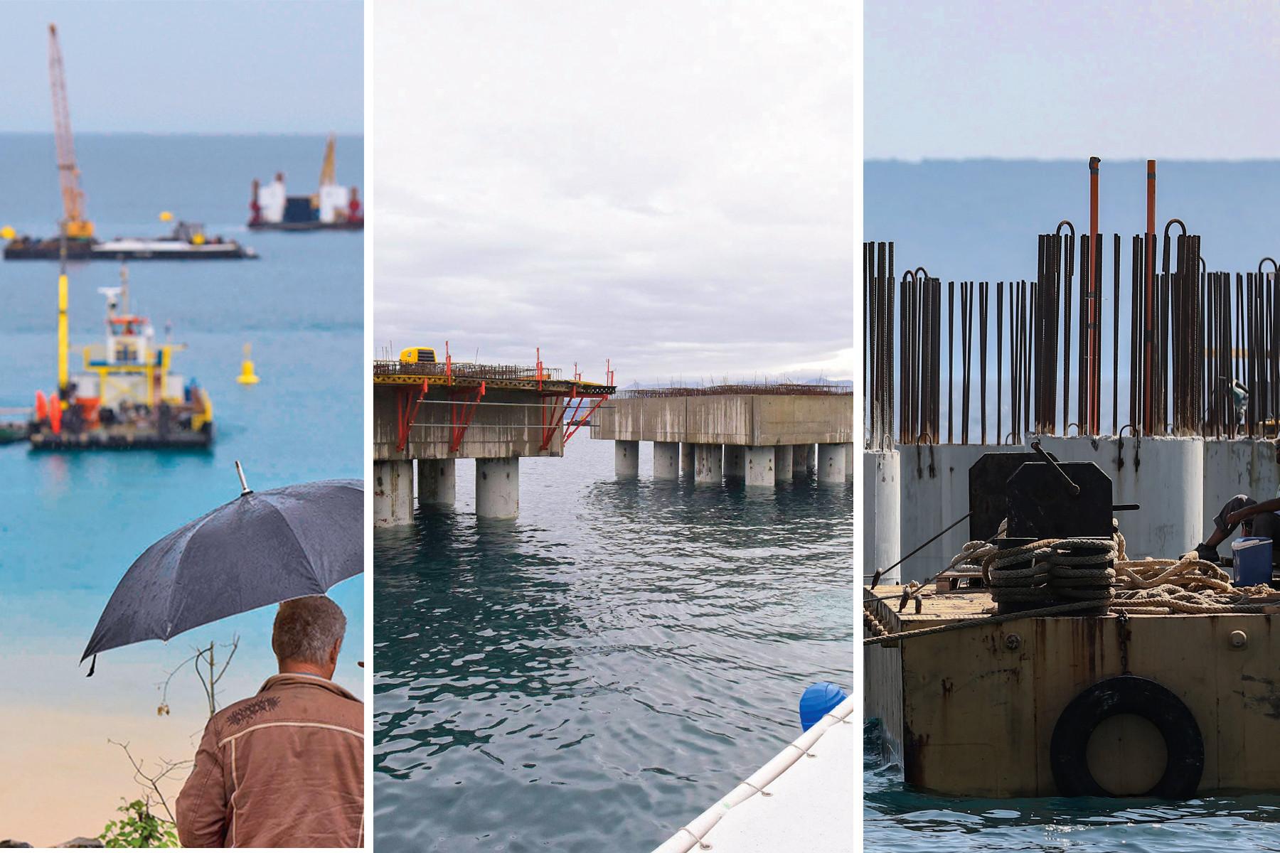 Obilazak gradilista LNG terminala u Omišlju