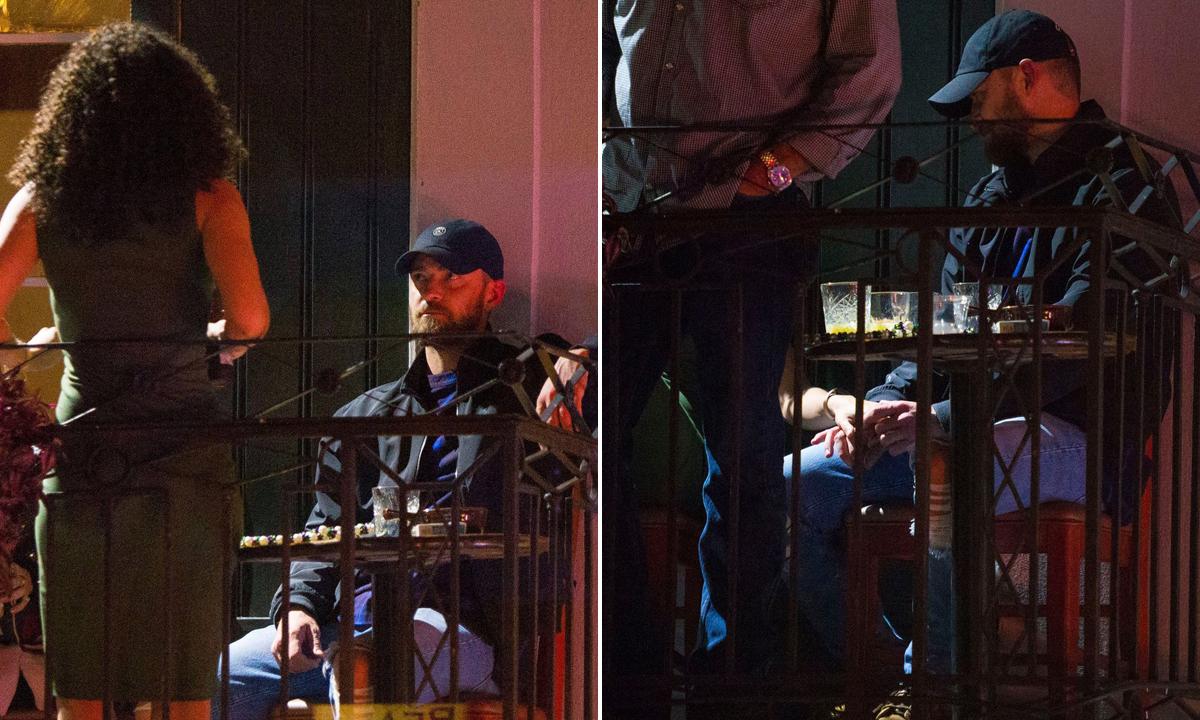 Alisha Wainwright i Justin Timberlake