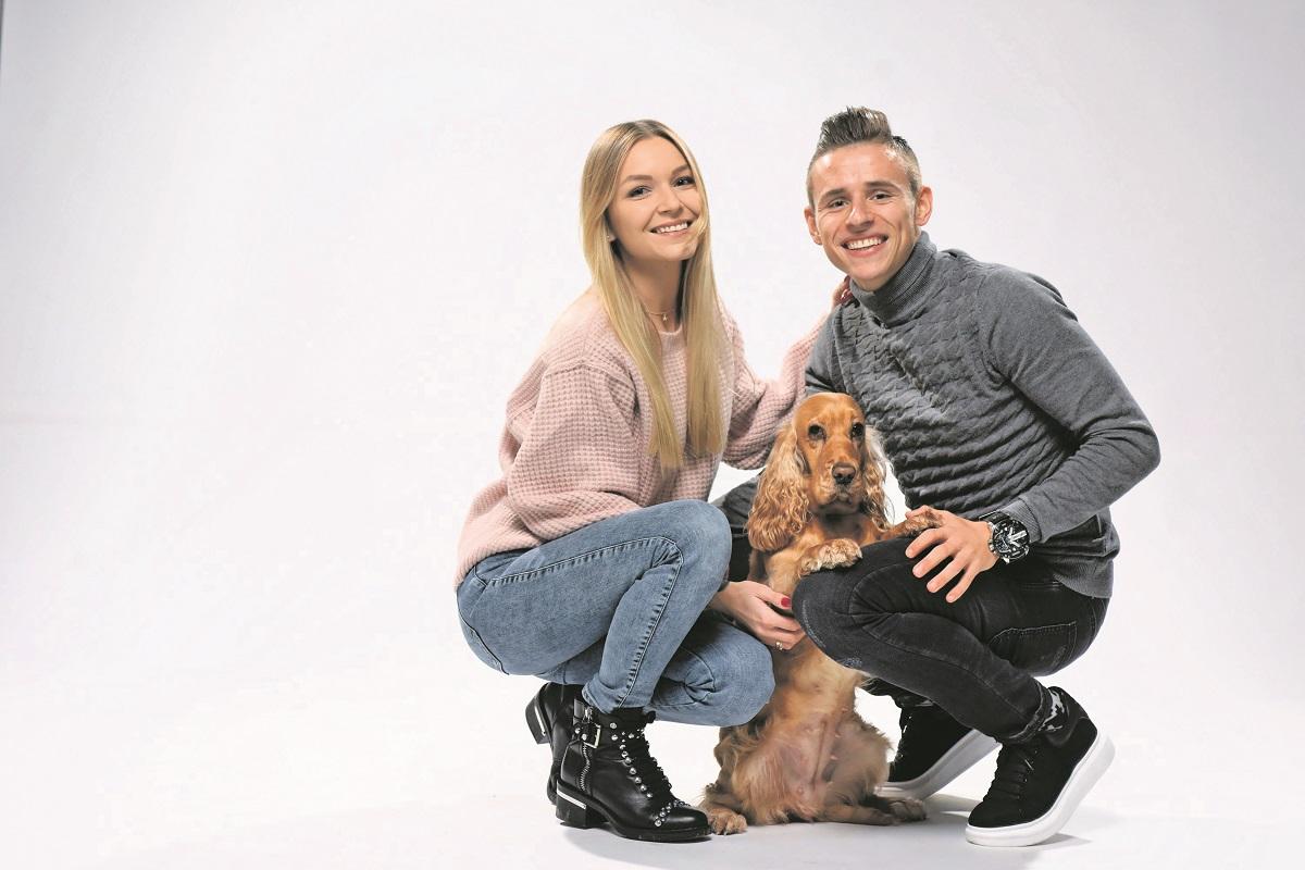 Aneta, Damian i njihov pas