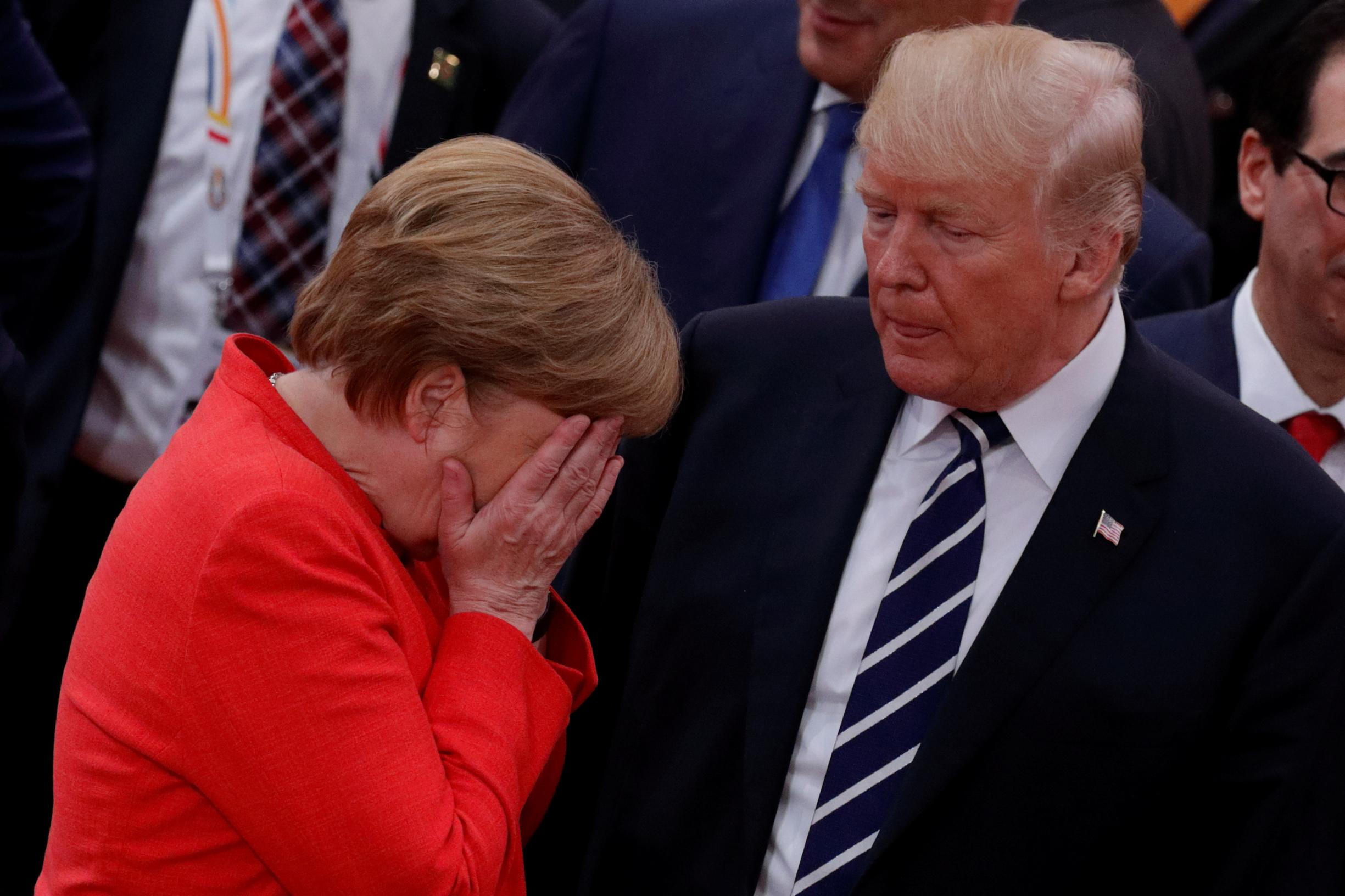 Njemačka kancelarka Angela Merkel i američki predsjednik Donald Trump