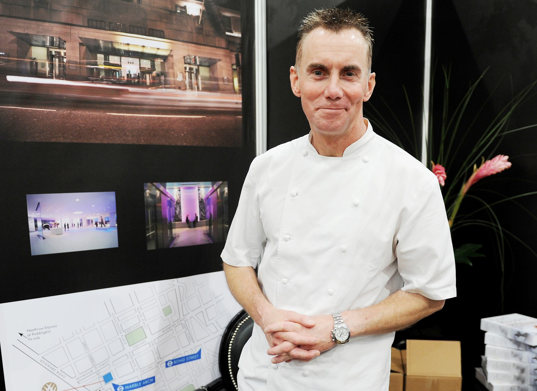 File photo dated 02/12/11 of Gary Rhodes in his pop-up restaurant at the Taste of Christmas food and drink festival at ExCeL Centre, London. TV Chef Gary Rhodes, 59, passed away on Tuesday evening, his family have announced., Image: 485081078, License: Rights-managed, Restrictions: FILE PHOTO, Model Release: no, Credit line: Georgie Gillard / PA Images / Profimedia