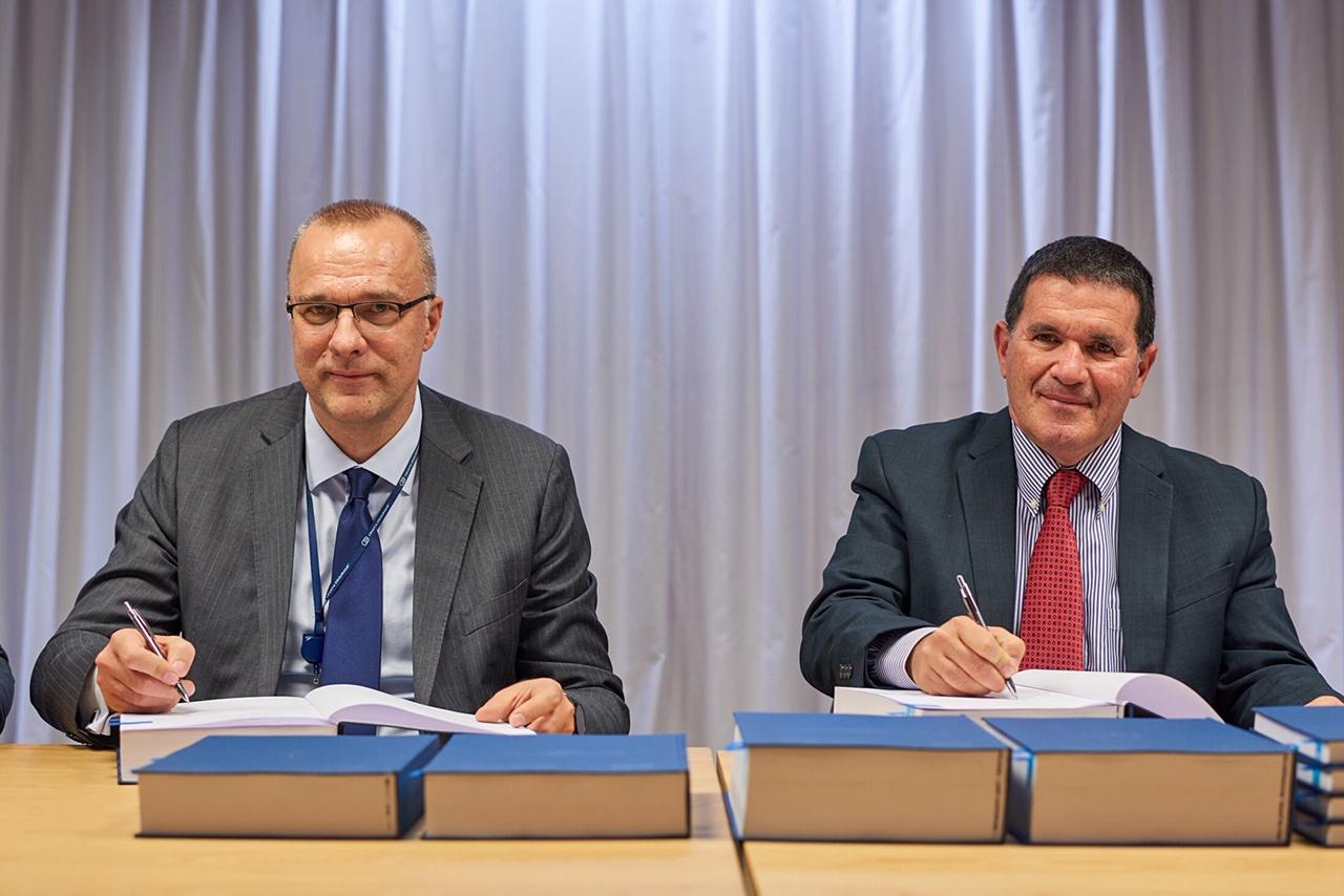 Davor Tomašković, predsjednik Uprave Croatia osiguranja, i Roni Al-Dor, predsjednik Uprave Sapiensa