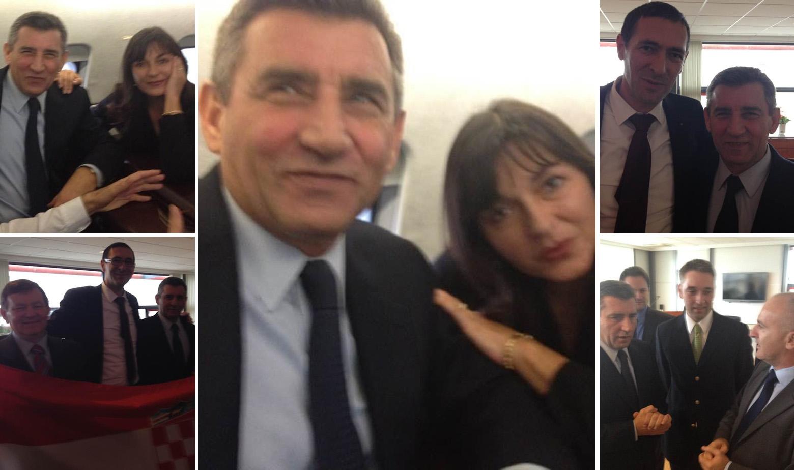 Ante Gotovina i Dunja Zloić-Gotovina