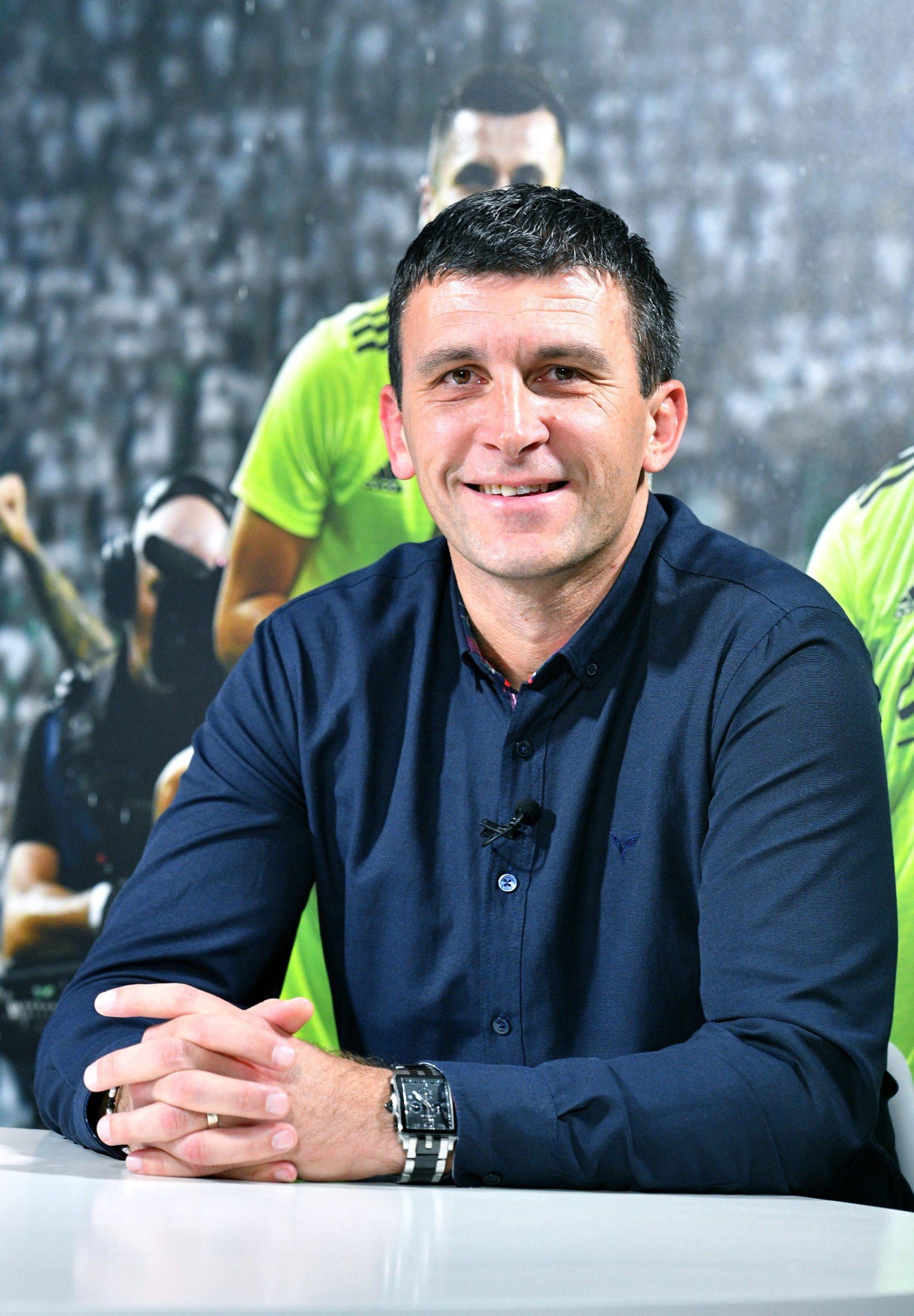 Zagreb, 271119. Snimanje gostiju podcasta Sportskih novosti: Sergej Jakirevic i Petar Stojanovic. Foto: Srdjan Vrancic / CROPIX