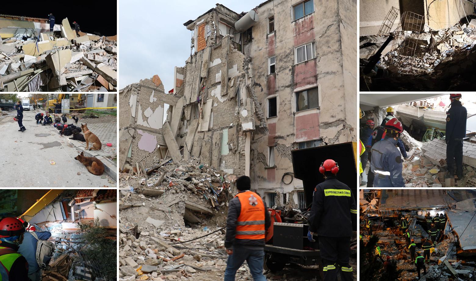 Posljedice potresa u Albaniji