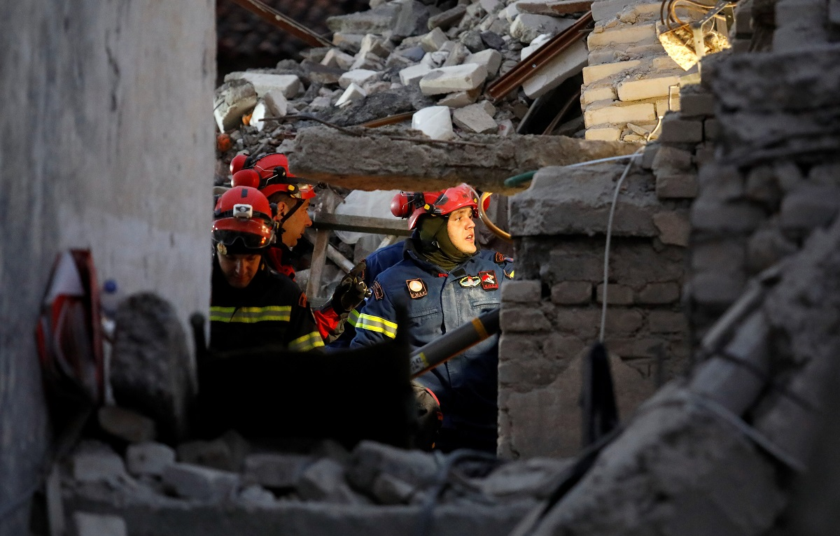 Potres u Albaniji