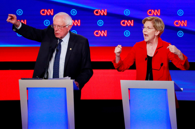 Bernie Sanders i Elizabeth Warren