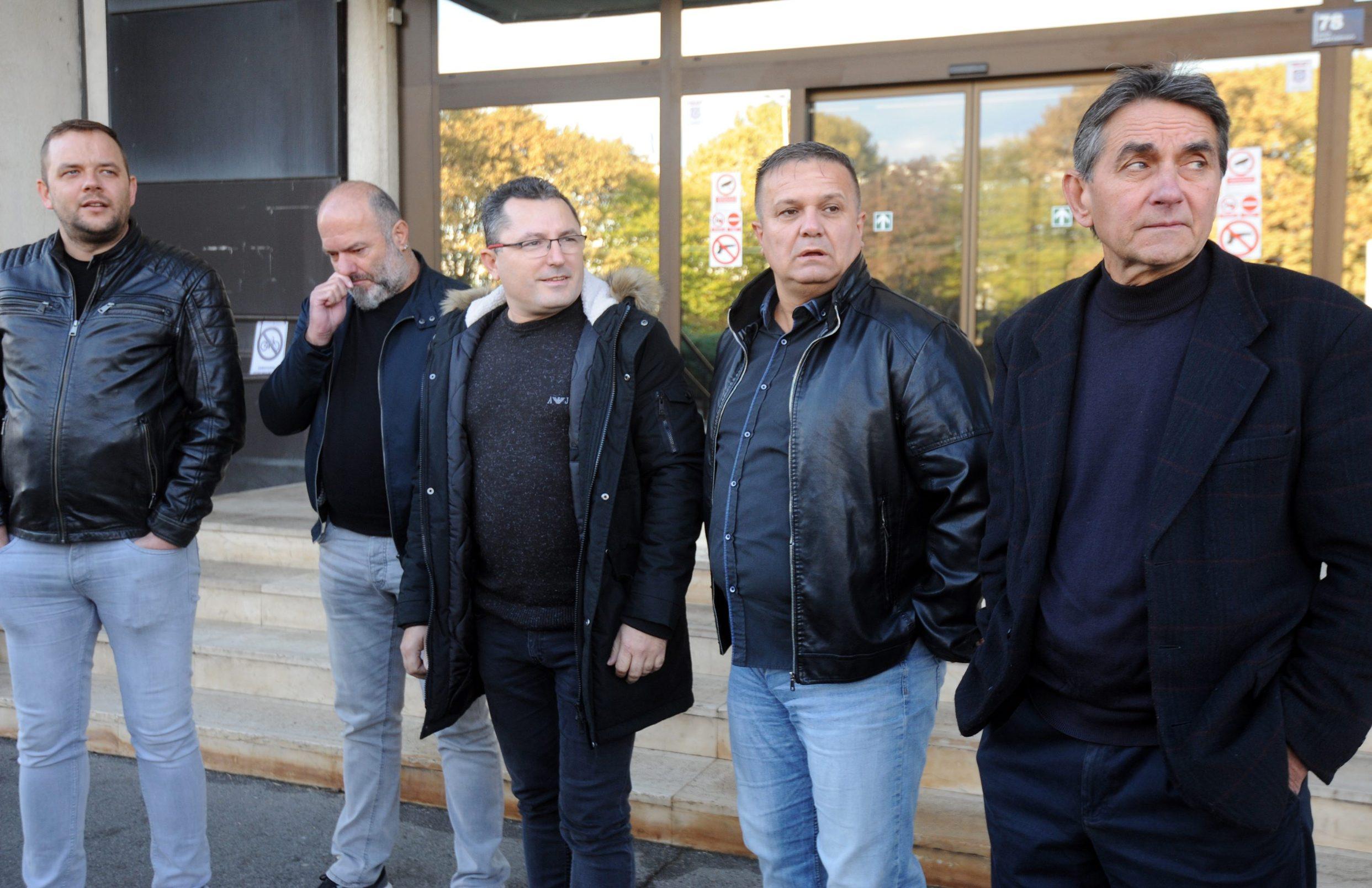 Sebastijan Svat, Slavomir Brkić, Tihomir Jaić, Mato Mlinarić, Stjepan Kunovec