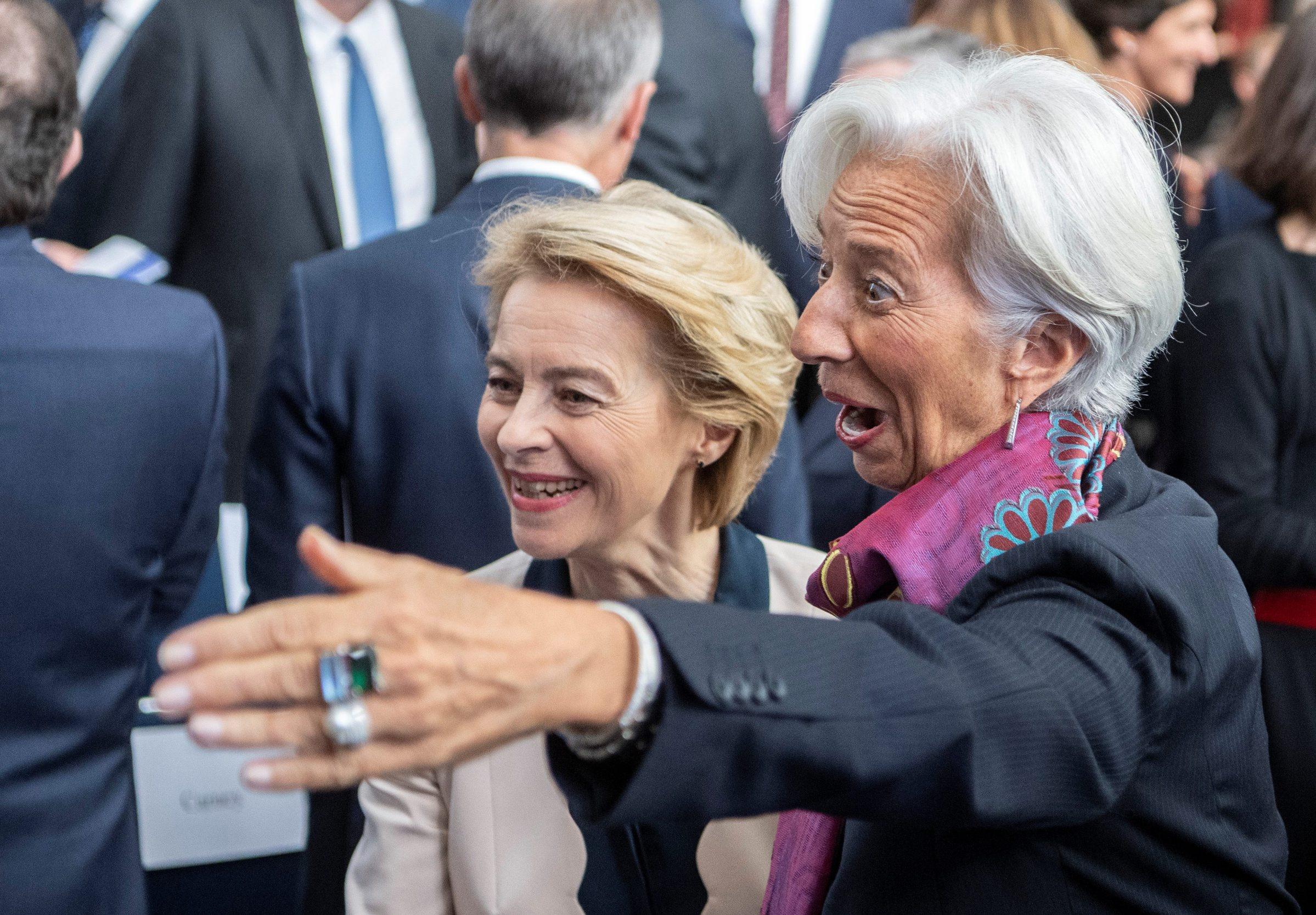 Dvije žene ne čelu ključnih europskih institucija: Ursula von der Leyen (lijevo) izabrana je za predsjednicu Europske komisije, a Christine Lagarde je već preuzela funkciju predsjednice Europske središnje banke