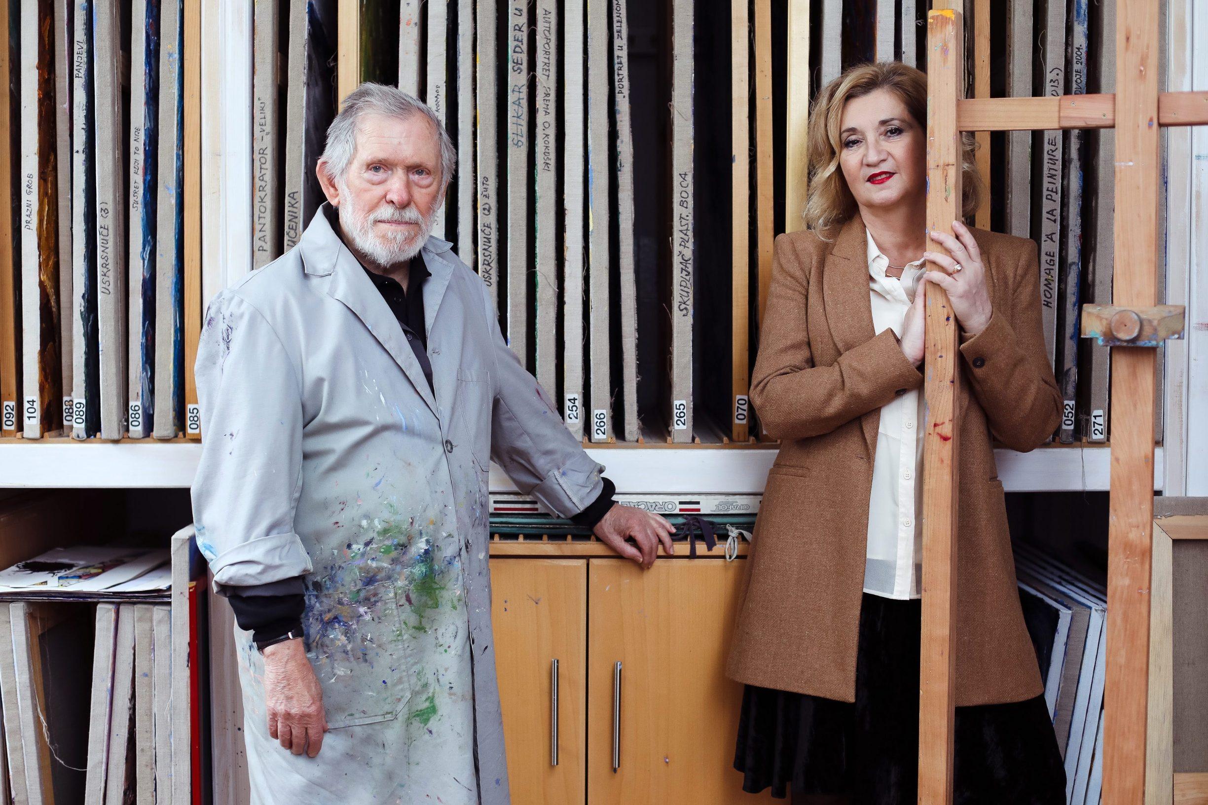Đuro Seder i Mirjana Dugandžija