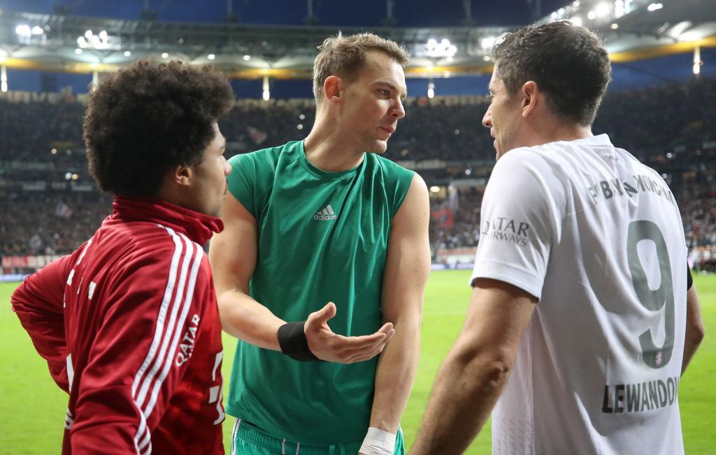 Manuel Neuer (u sredini) od ljeta vjerojatno više neće biti prvi golman Bayerna