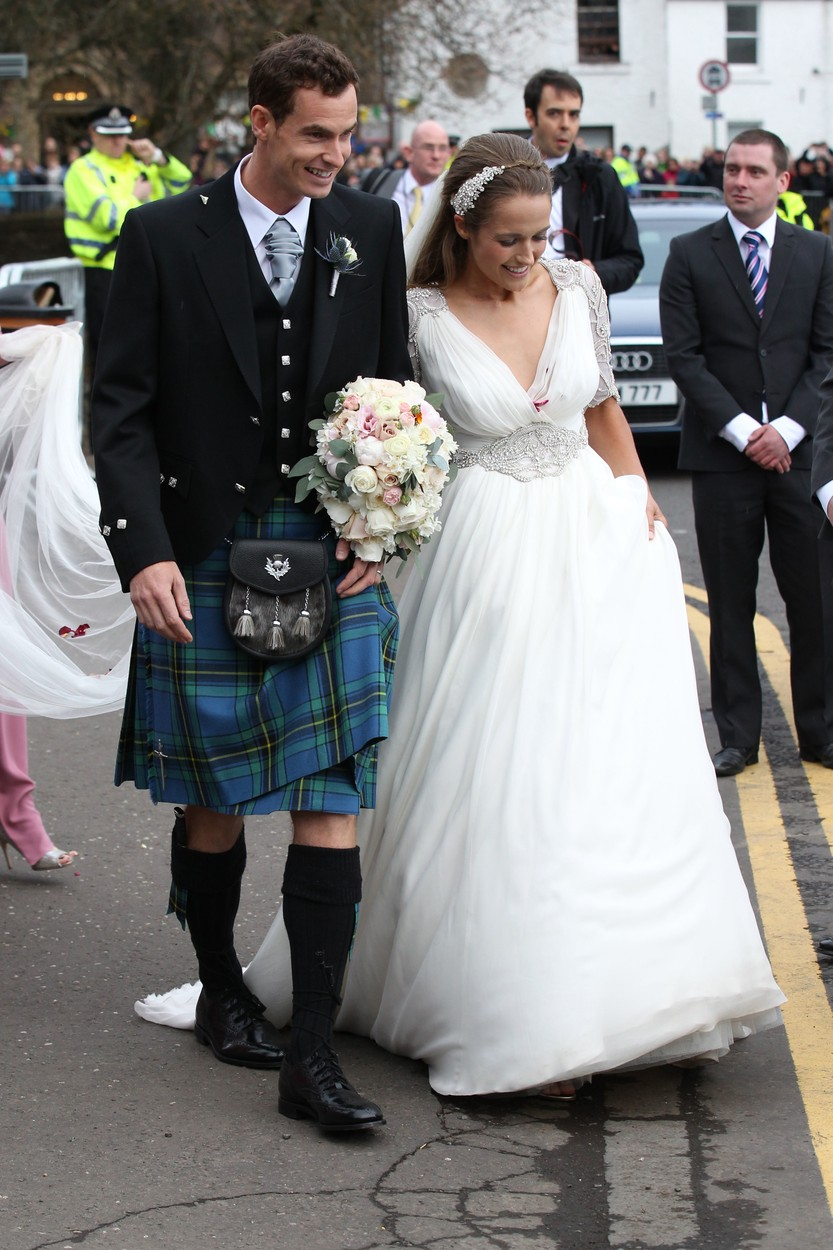 (4634569fe) Andy Murray and Kim Sears Wedding of Andy Murray and Kim Sears, Dunblane, Scotland, Britain - 11 Apr 2015, Image: 238337590, License: Rights-managed, Restrictions: , Model Release: no, Credit line: Beretta/Sims / Shutterstock Editorial / Profimedia