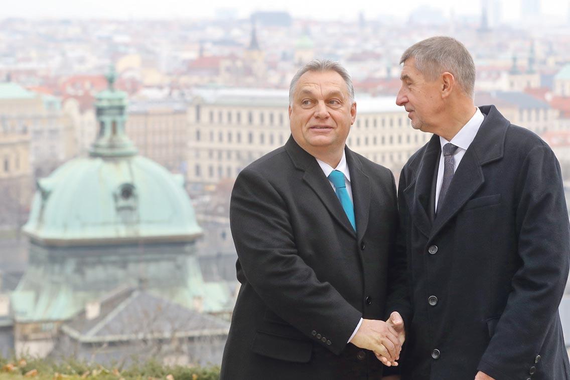 Viktor Orban i Andrej Babiš