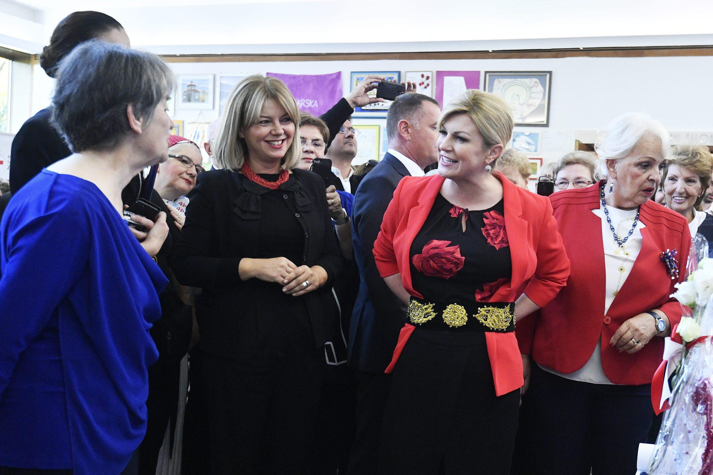Mirjana Hrga i Kolinda Grabar Kitarović