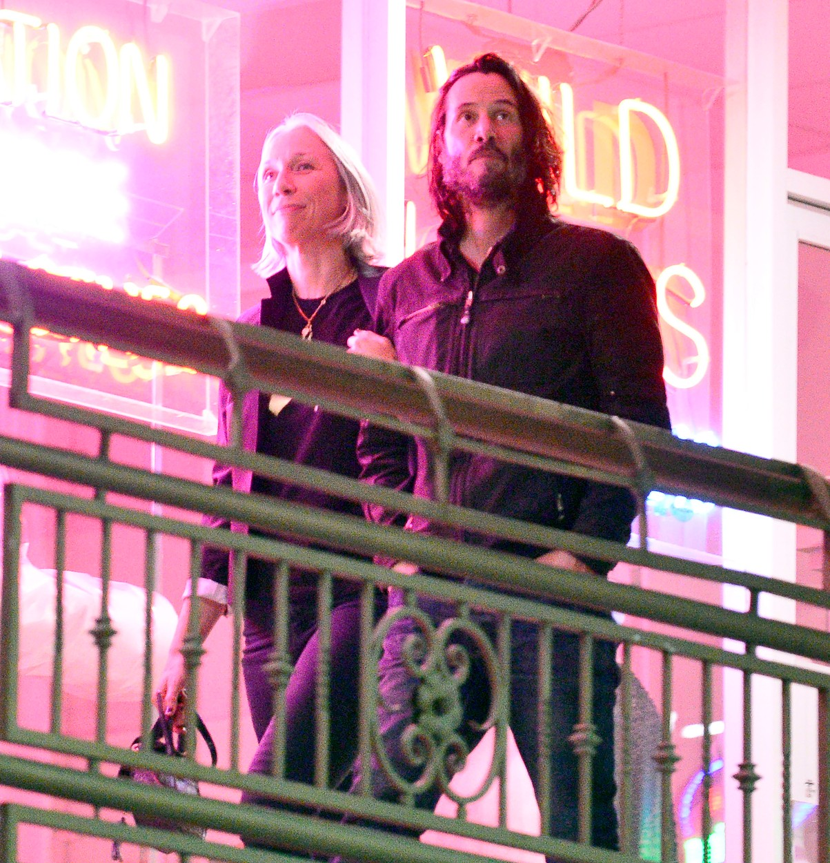 EXCLUSIVE: Keanu Reeves out for dinner with new girlfriend Alexandra Grant in Los Angeles. Photographs taken October 18th 2019. 04 Nov 2019, Image: 477899813, License: Rights-managed, Restrictions: World Rights, Model Release: no, Credit line: MEGA / Mega Agency / Profimedia