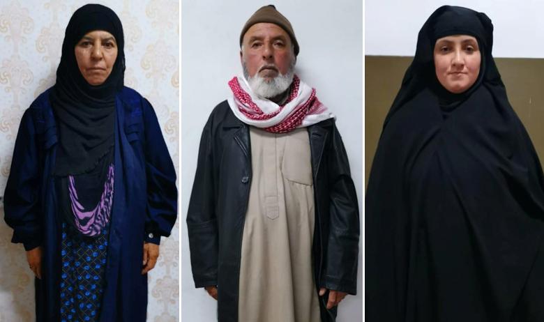 Rasmiya Awad; muškarac za kojeg se vjeruje da je suprug Rasmiyje Awad; žena za koju se vjeruje da je pokćerka Rasmiyje Awad