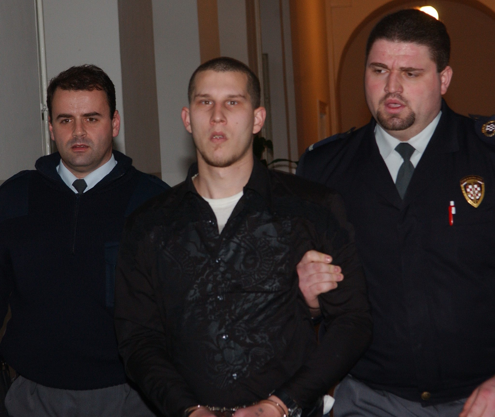 Rijeka,110108. Ivan Dvorski prvooptuzeni  za trostruko ubojstvo na Vezici. Foto: Zeljko Sop / Cropix