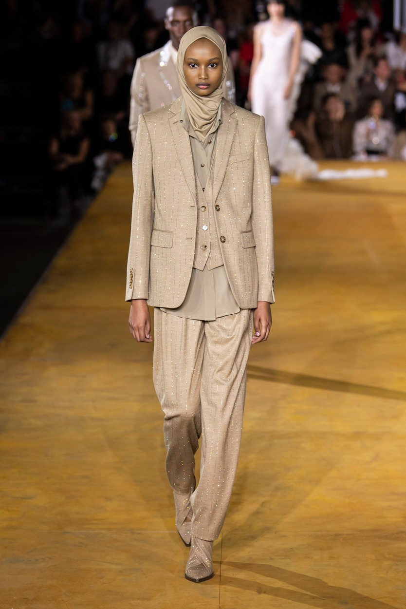 Burberry Spring Summer 2020 Runway fashion show London Fashion Week,  England, UK in September 2019., Image: 471468981, License: Rights-managed, Restrictions: , Model Release: no, Credit line: Rick Gold / Capital pictures / Profimedia