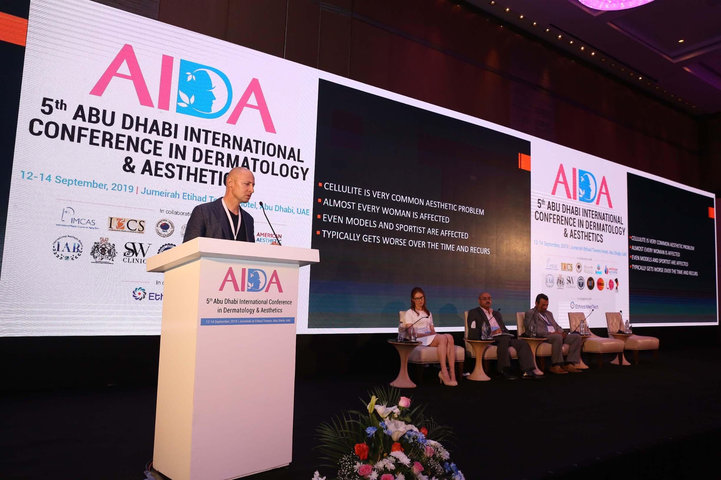 Ovoj nagradi još veći značaj doprinosi činjenica da je na AIDA konferenciji sudjelovalo više od 1000 vrhunskih stručnjaka, no upravo su Kaliternine inovativne metode uklanjanja celulita i njihova učinkovitost, osvojile cijeli znanstveni odbor.