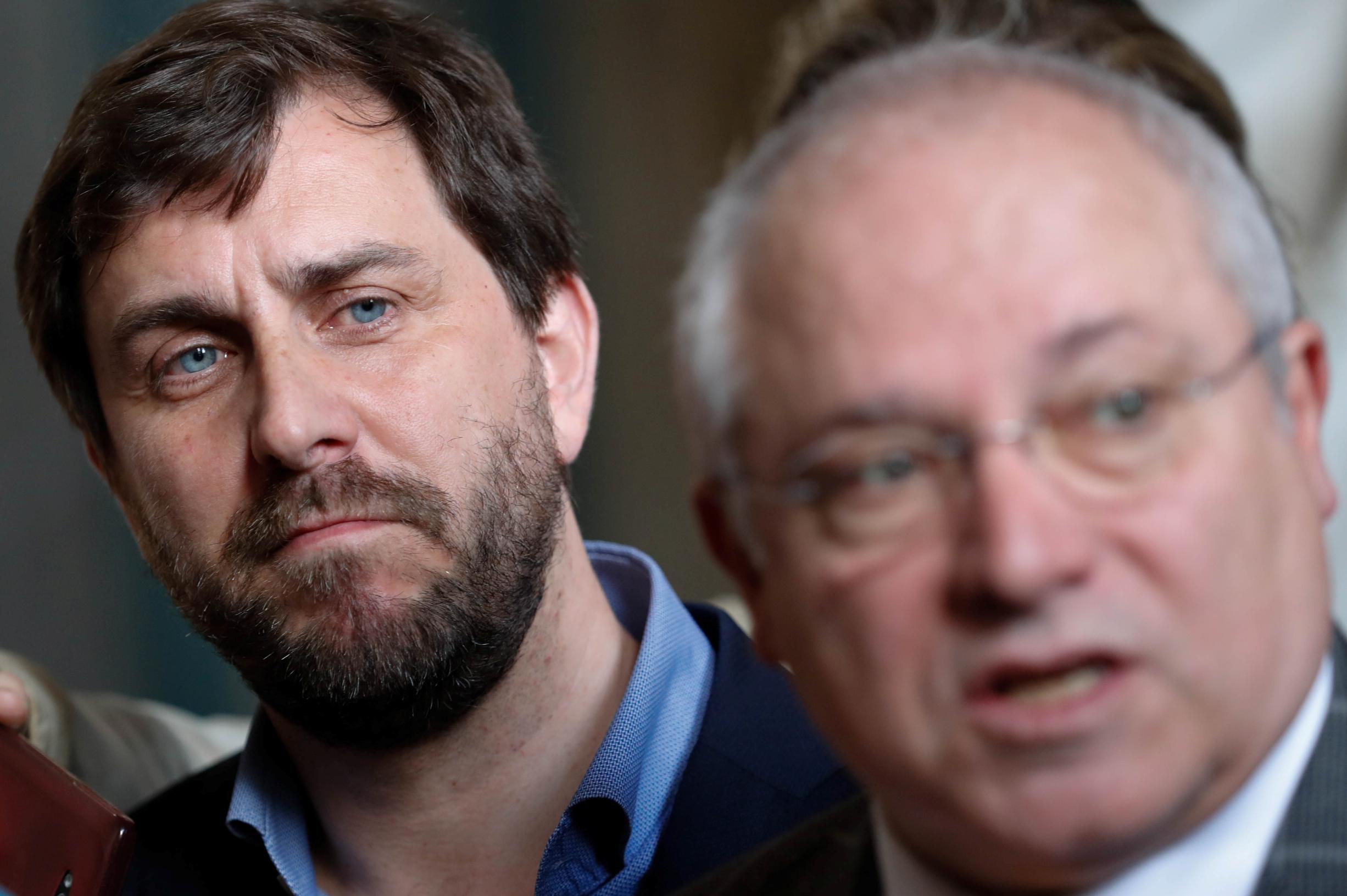 Lluis Puig Gordi i Antoni Comin
