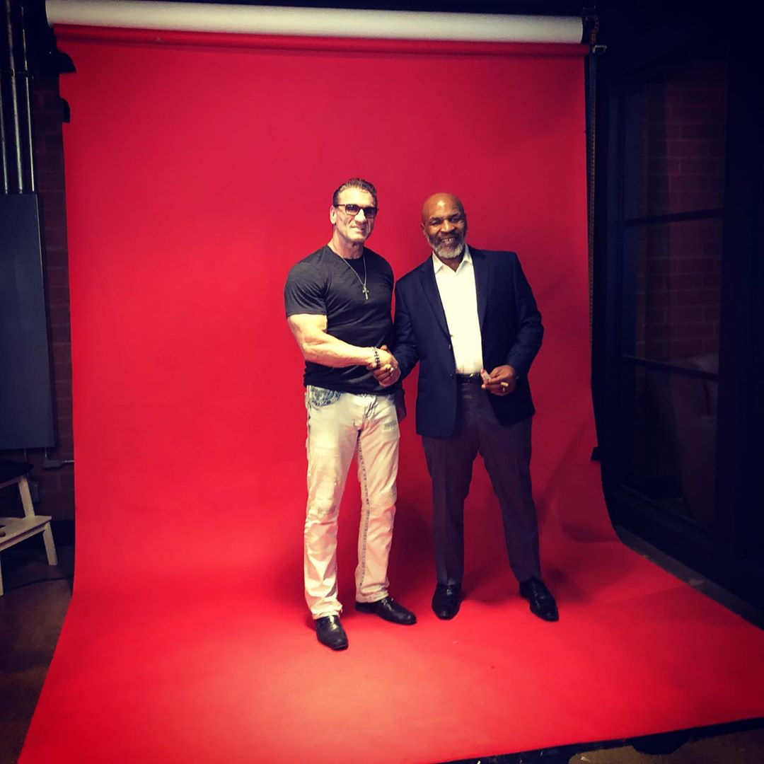 Ken Shamrock i Mike Tyson