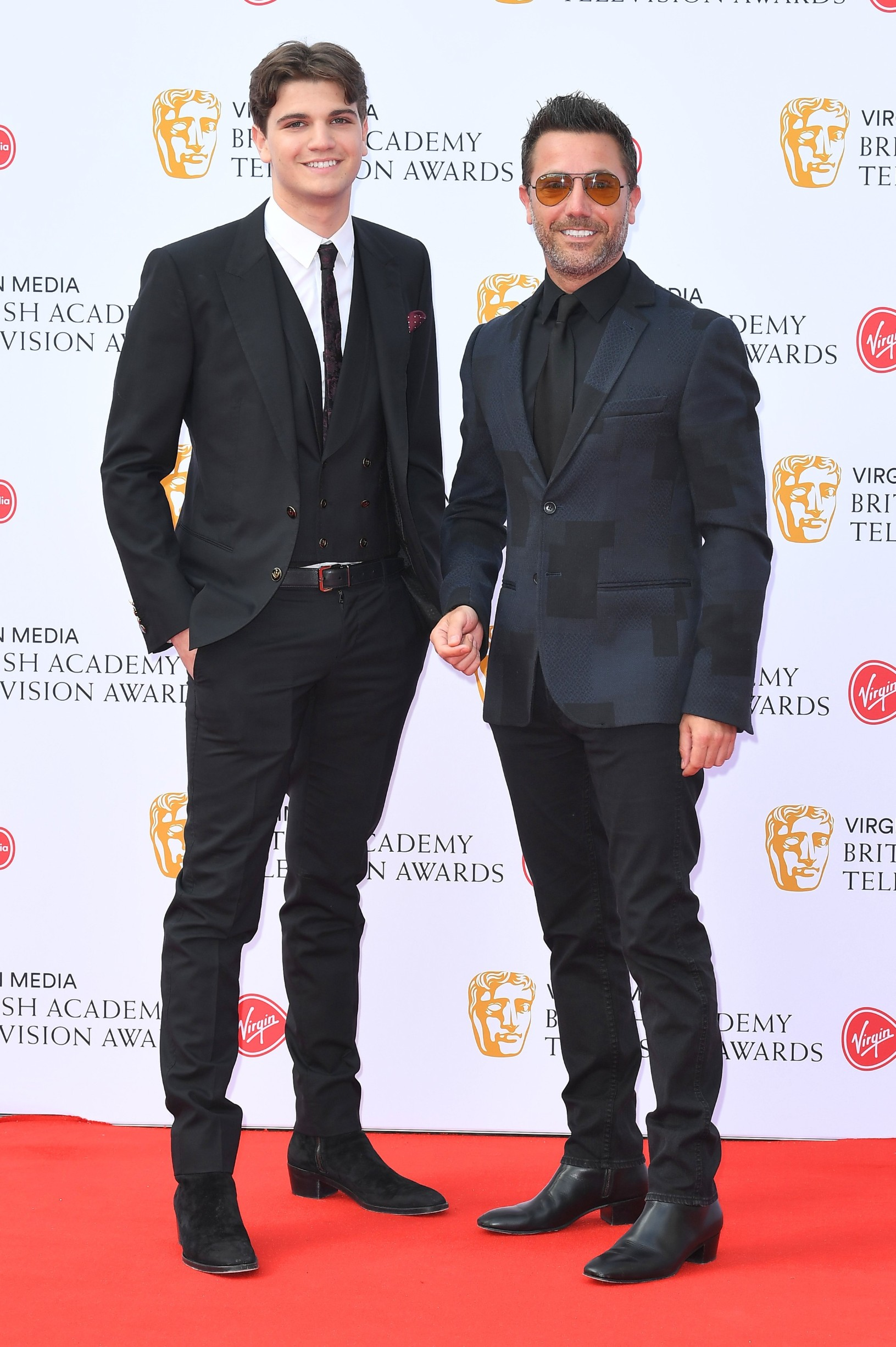 Gino D'Acampo British Academy Television Awards, Arrivals, Royal Festival Hall, London, UK - 12 May 2019, Image: 432854751, License: Rights-managed, Restrictions: , Model Release: no, Credit line: Anthony Harvey/BAFTA / Shutterstock Editorial / Profimedia