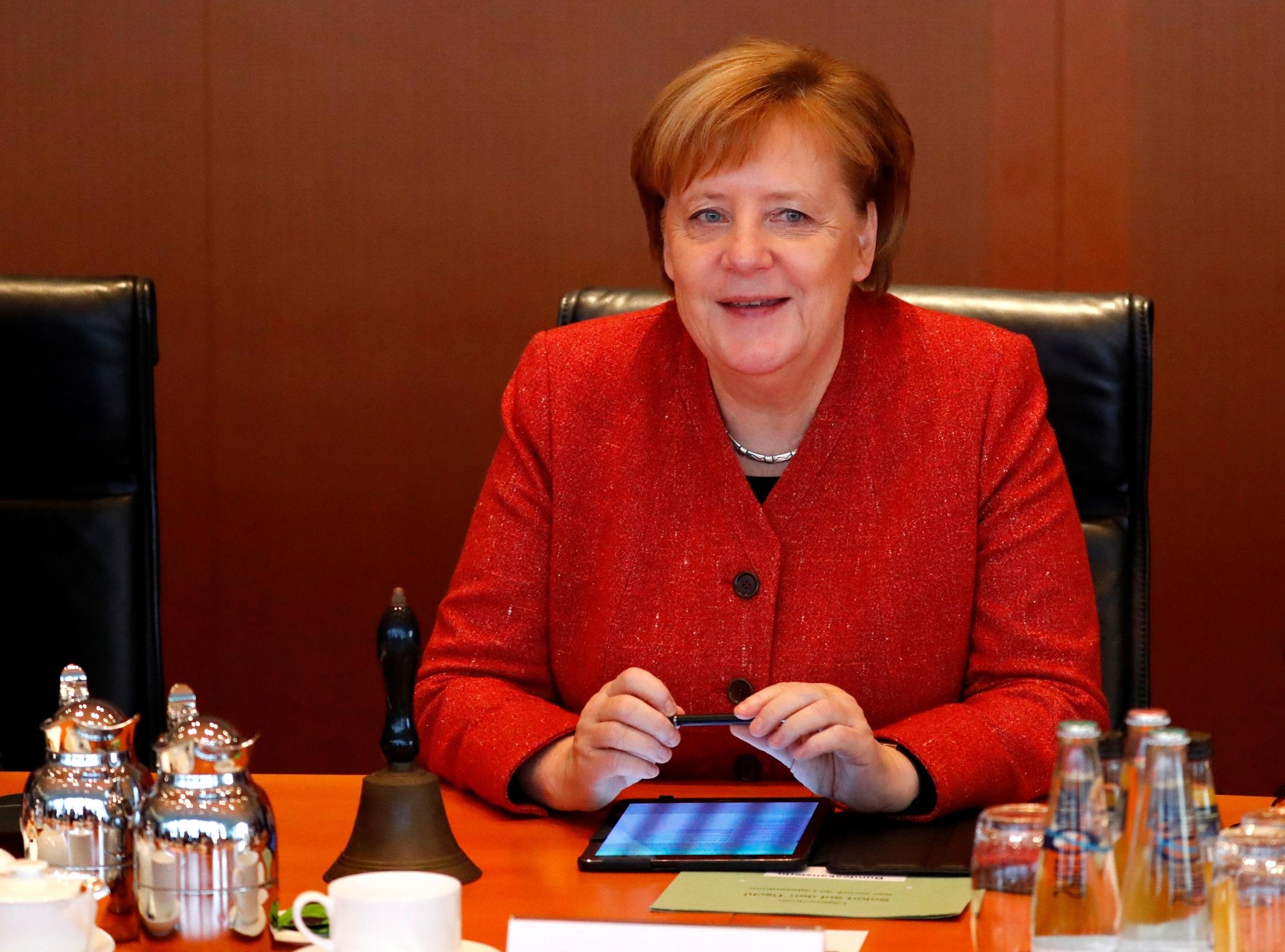 Angela Merkel 2018.