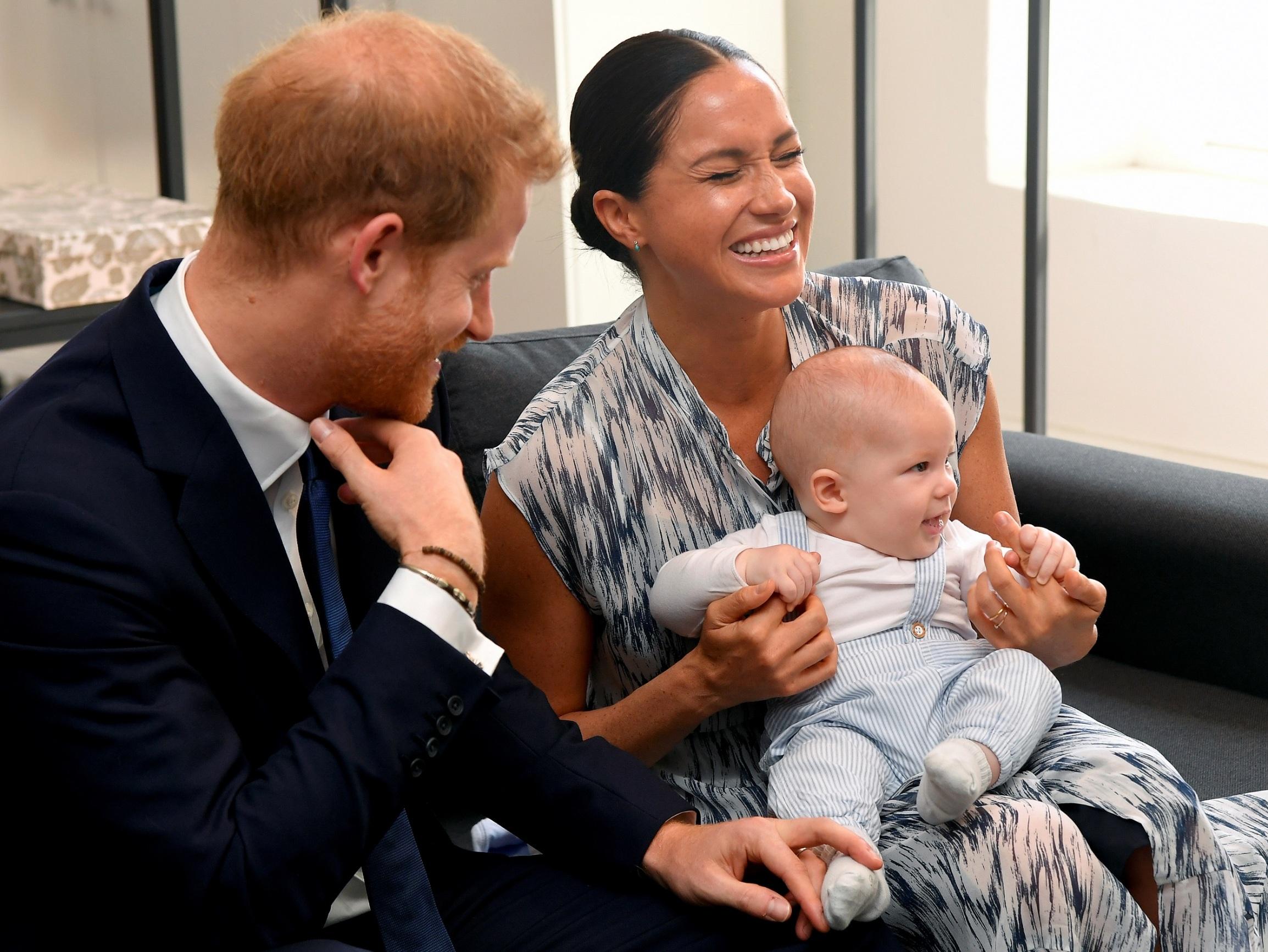 Meghan, Harry i Archie