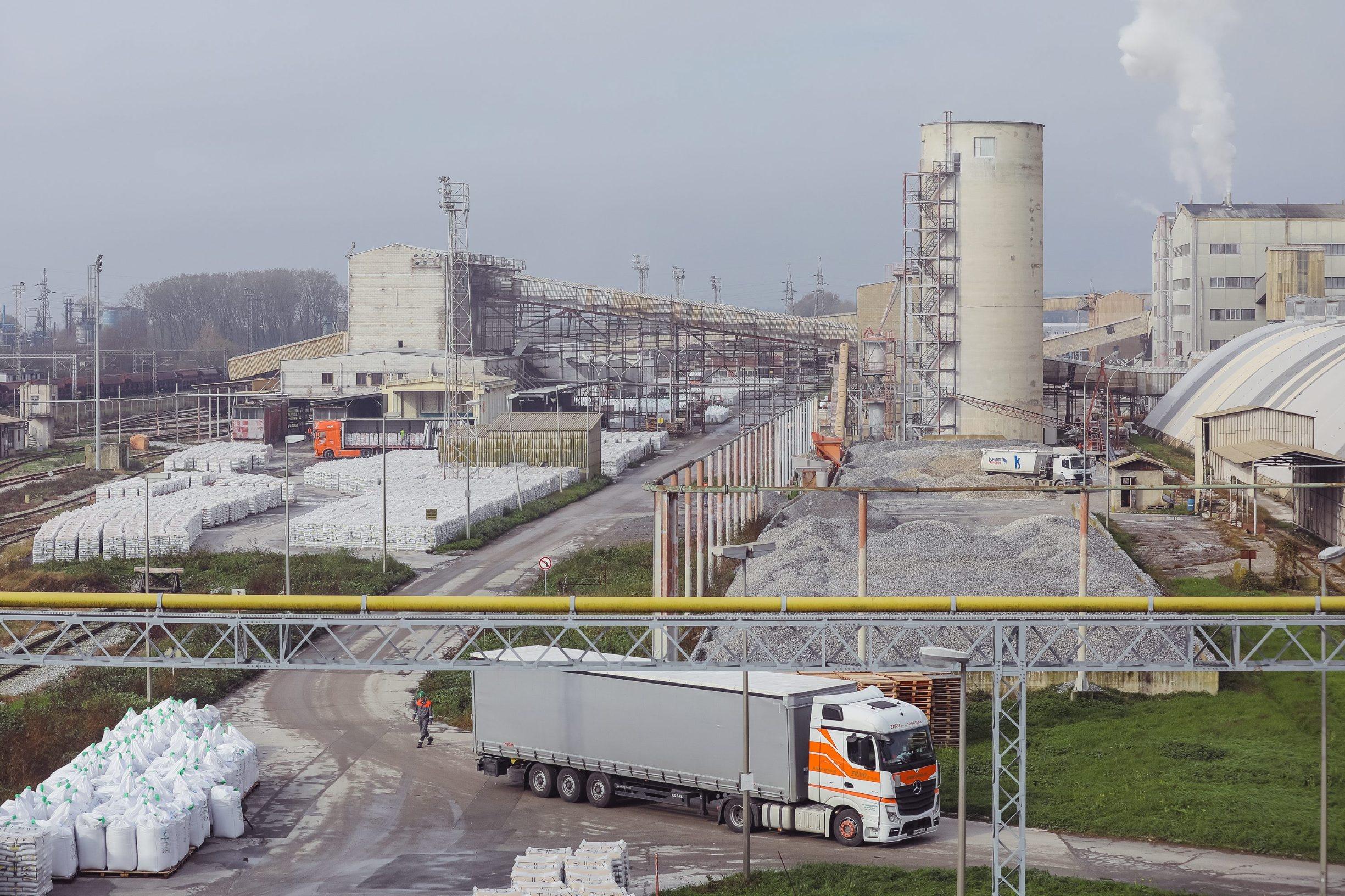 Petrokemija Kutina, najveća tvornica mineralnih gnojiva u Hrvatskoj