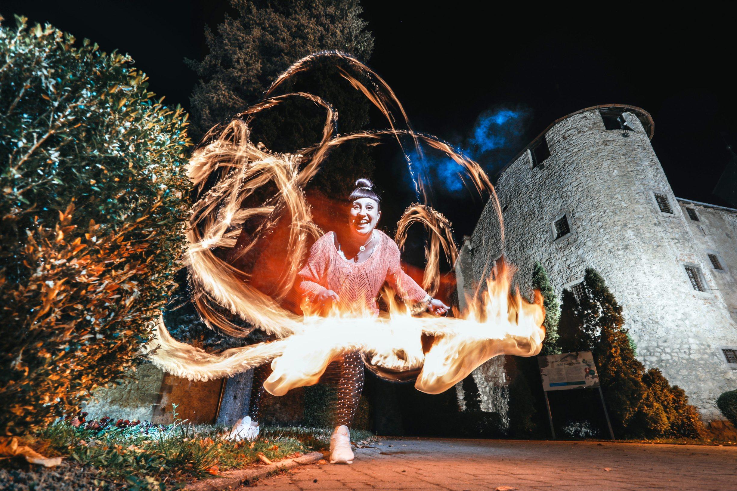 Ogulin, 281019 Reportaza o Ogulinu. Na fotografiji Ana Stipetic, nezaposlena Ogulinka, POI plesacica Foto: Danijel Soldo / CROPIX