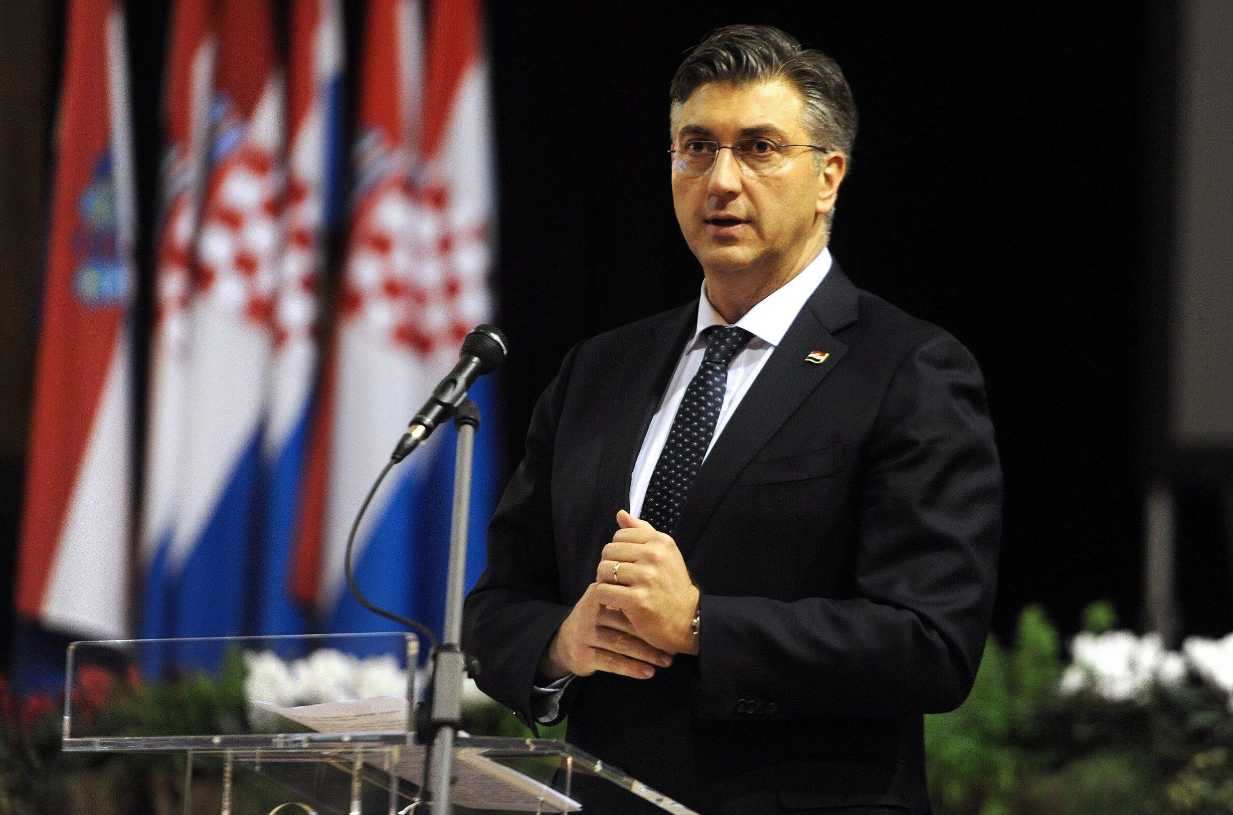 Na fotografiji: Andrej Plenković