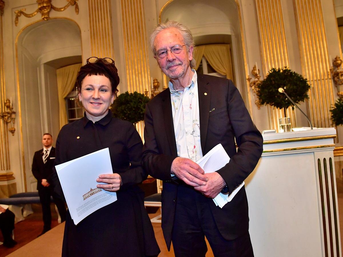 Ovogodišnji dobitnici Nobelove nagrade za književnost Olga Tokarczuk i Peter Handke