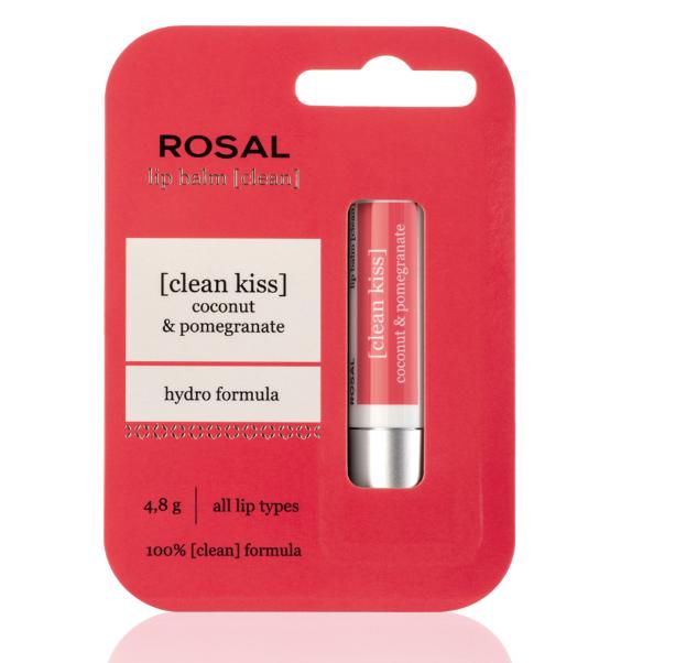 Rosal [clean] balzam za usne kokos i šipak, 2,65 €