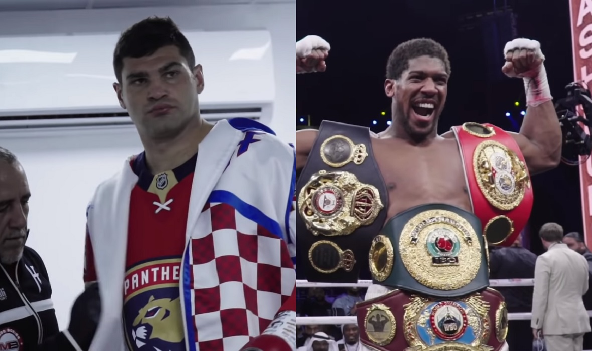 Filip Hrgović i Anthony Joshua