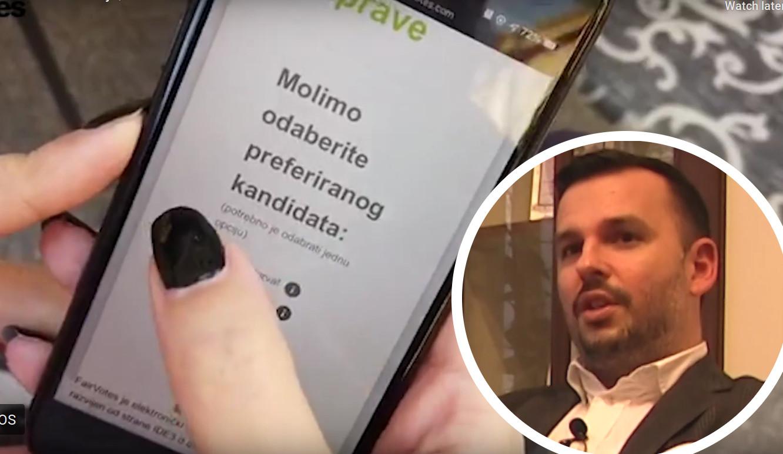 Sustav za elektroničko glasovanje, Ivan Hendija direktor tvrtke IDE3