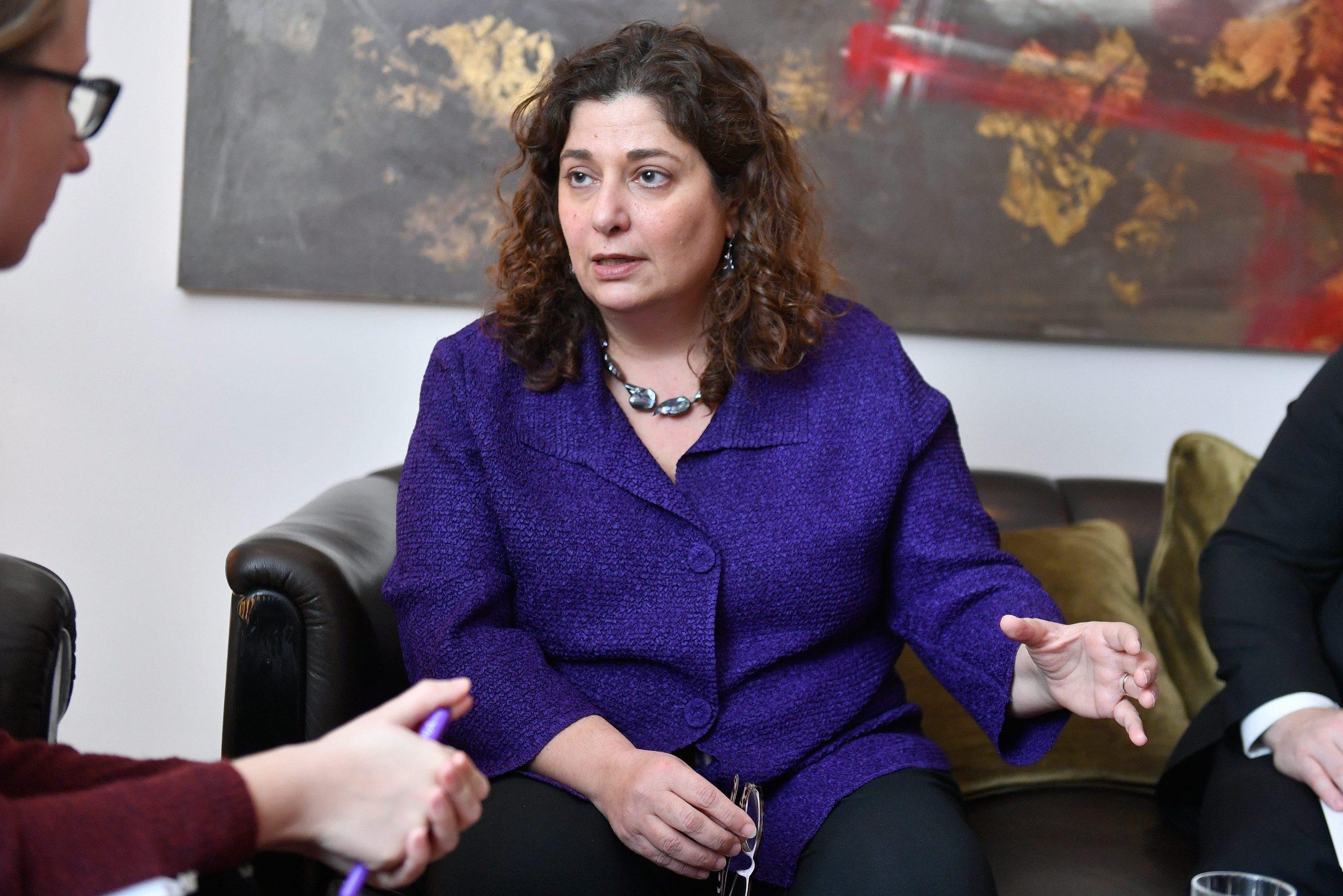 Cherrie Daniels, posebna izaslanica američke Vlade za pitanja holokausta