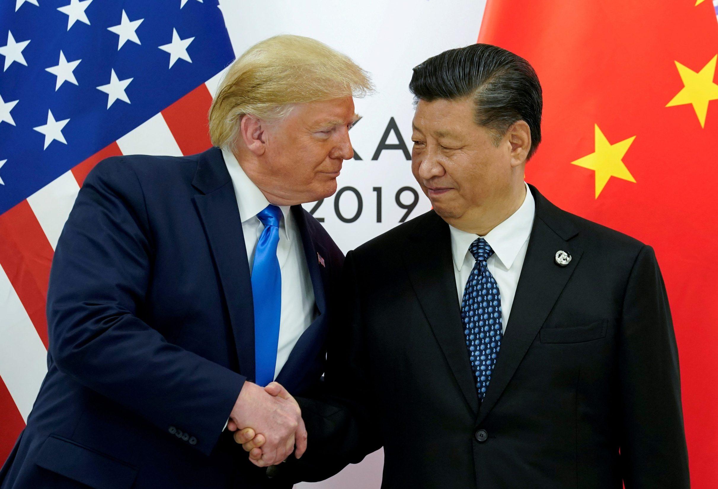 Donald Trump s kineskim predsjednikom Xijem Jinpingom