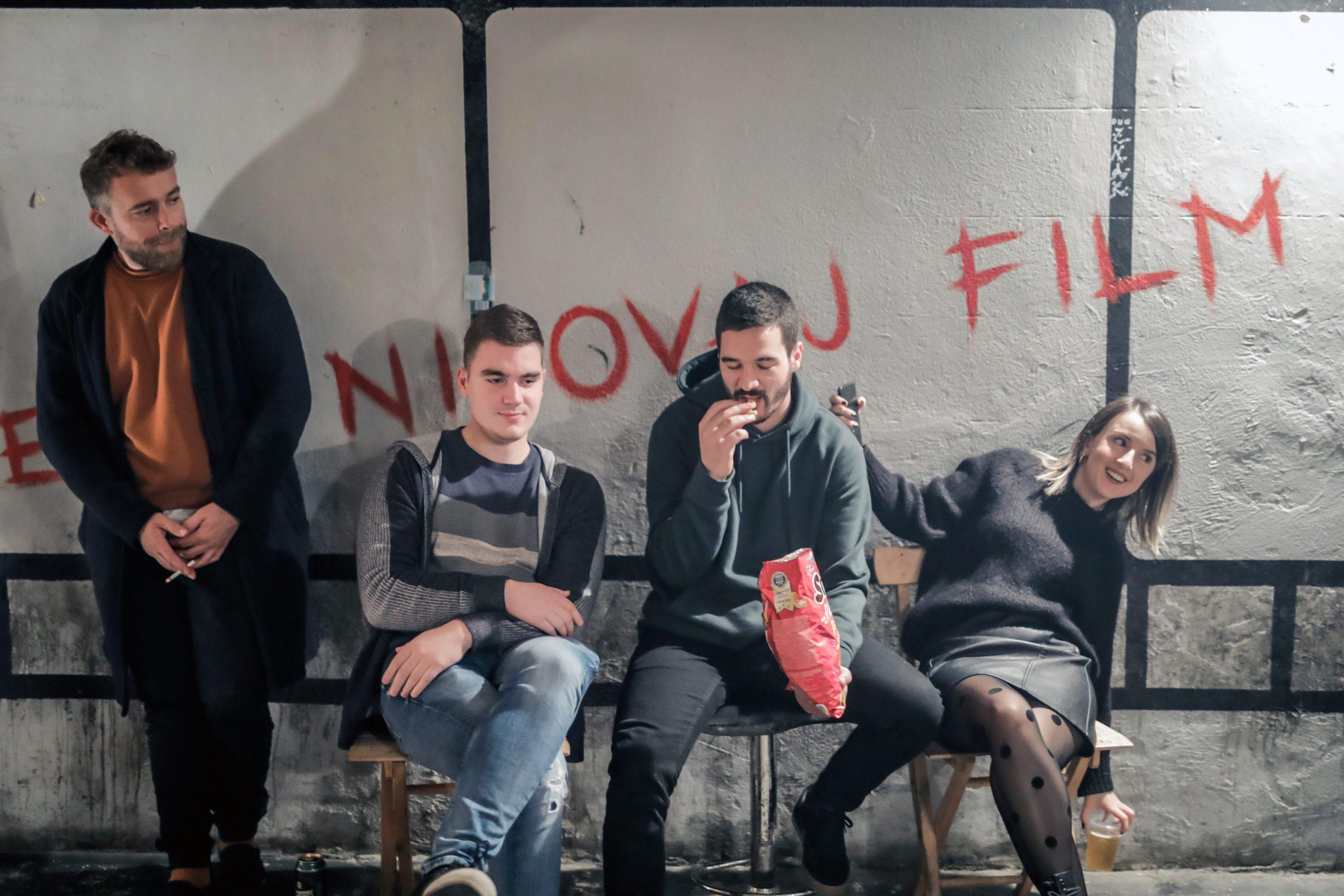 Benkovac, 031219 Reportaza o Benkovcu. Na fotografiji clanovi udruge Vlajter-ego u svom clubu Partyja.  Foto: Danijel Soldo / CROPIX