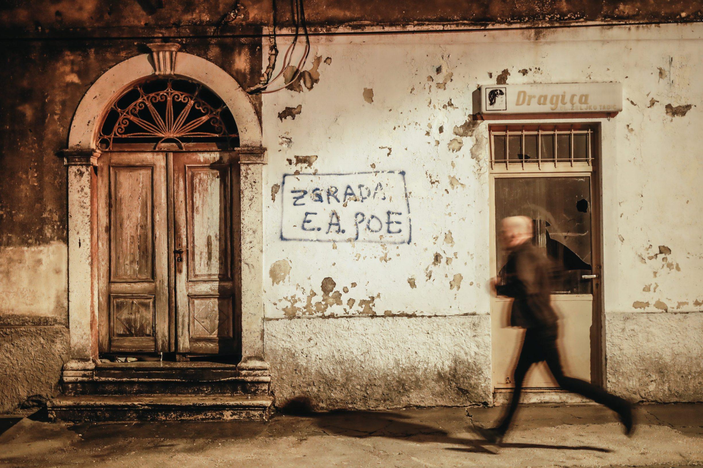 Benkovac, 031219 Reportaza o Benkovcu. Na fotografiji poznati benkovacki grafiti. Foto: Danijel Soldo / CROPIX