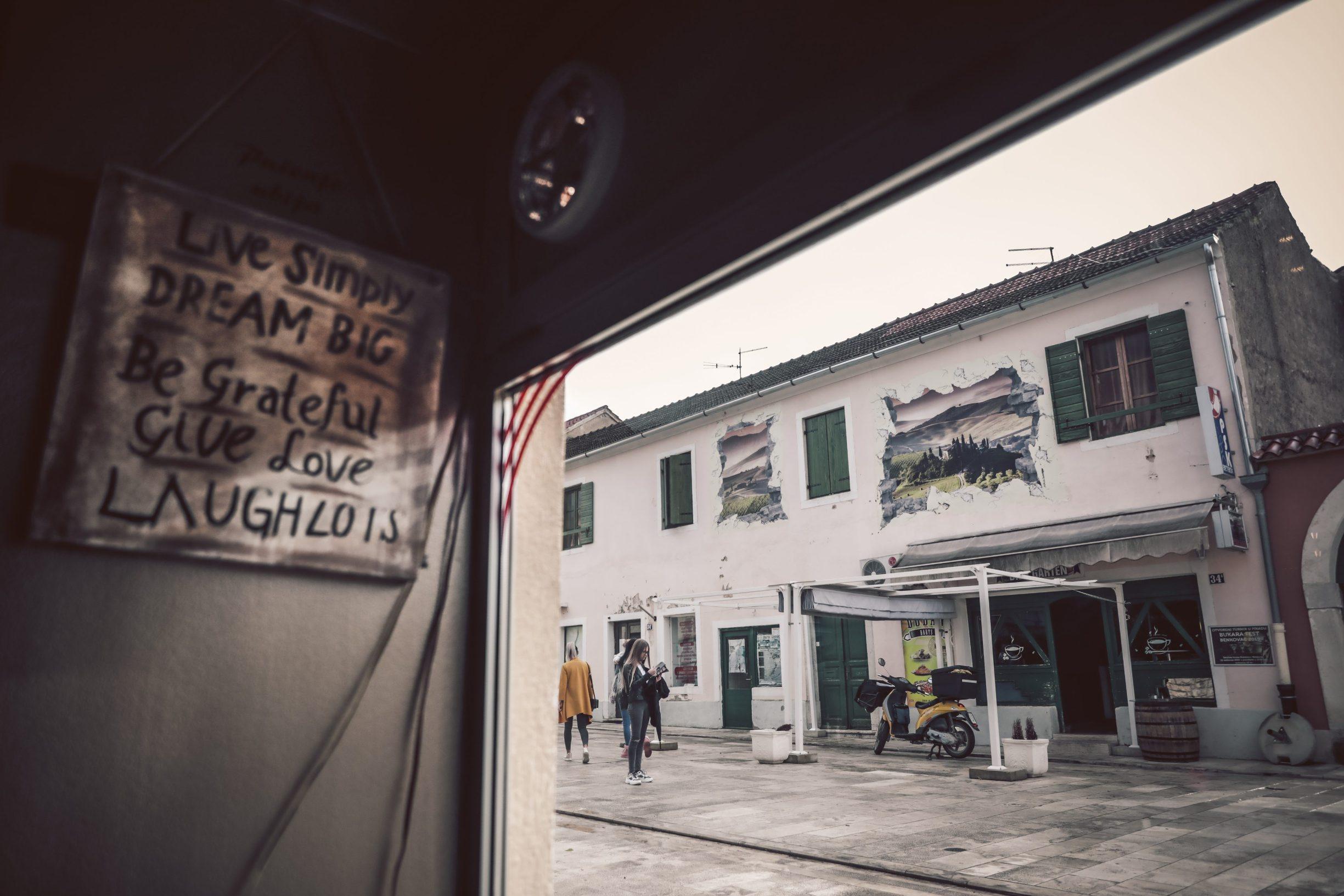 Benkovac, 031219 Reportaza o Benkovcu. Na fotografiji ulice Benkovca. Foto: Danijel Soldo / CROPIX