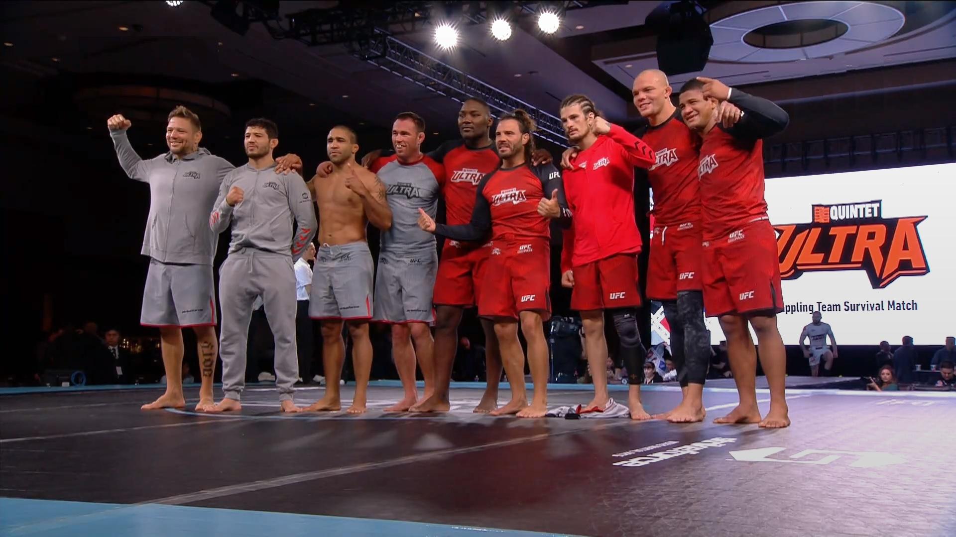 Team Strikeforce i Team UFC