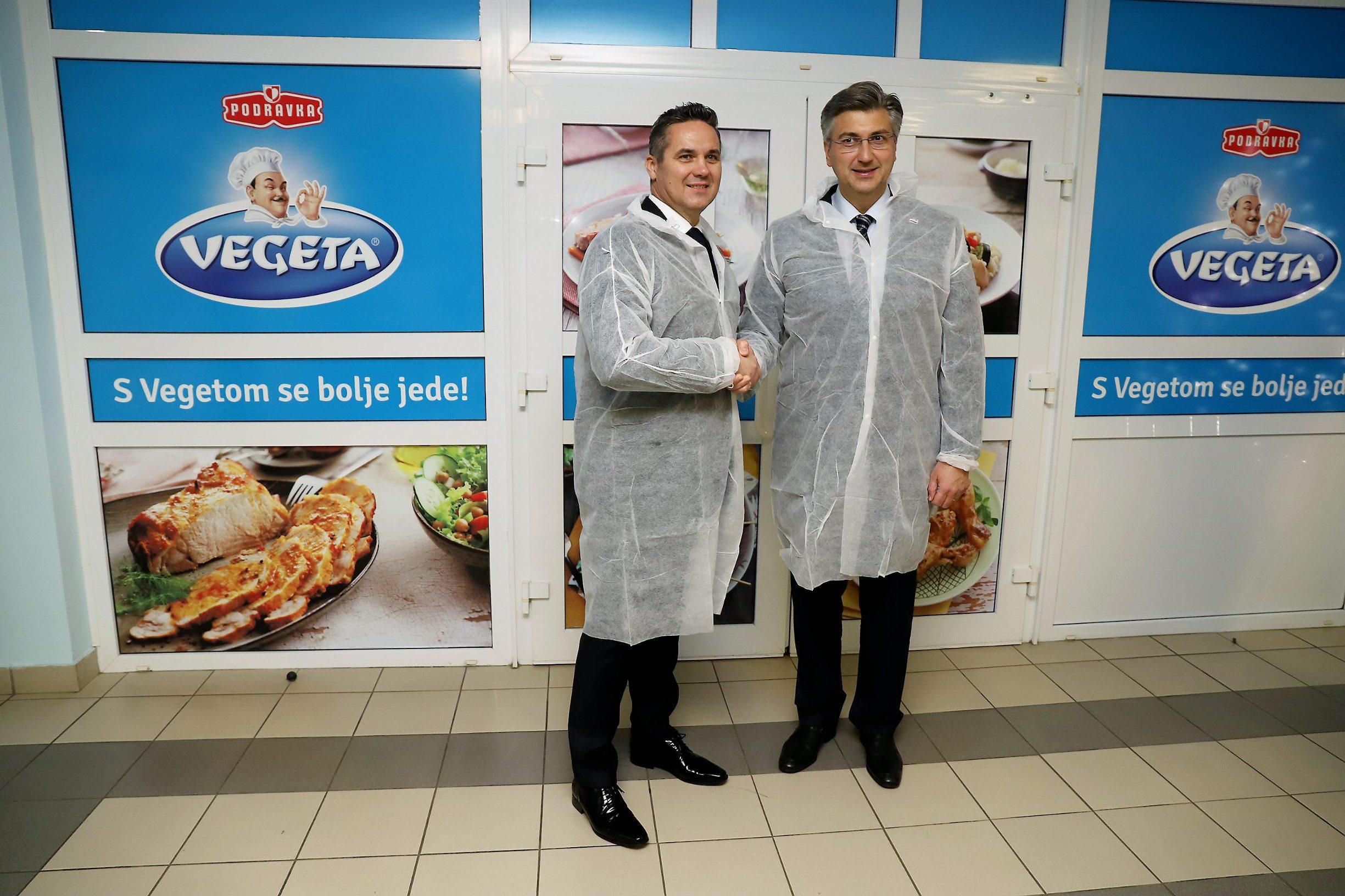 Andrej Plenković i Marin Pucar