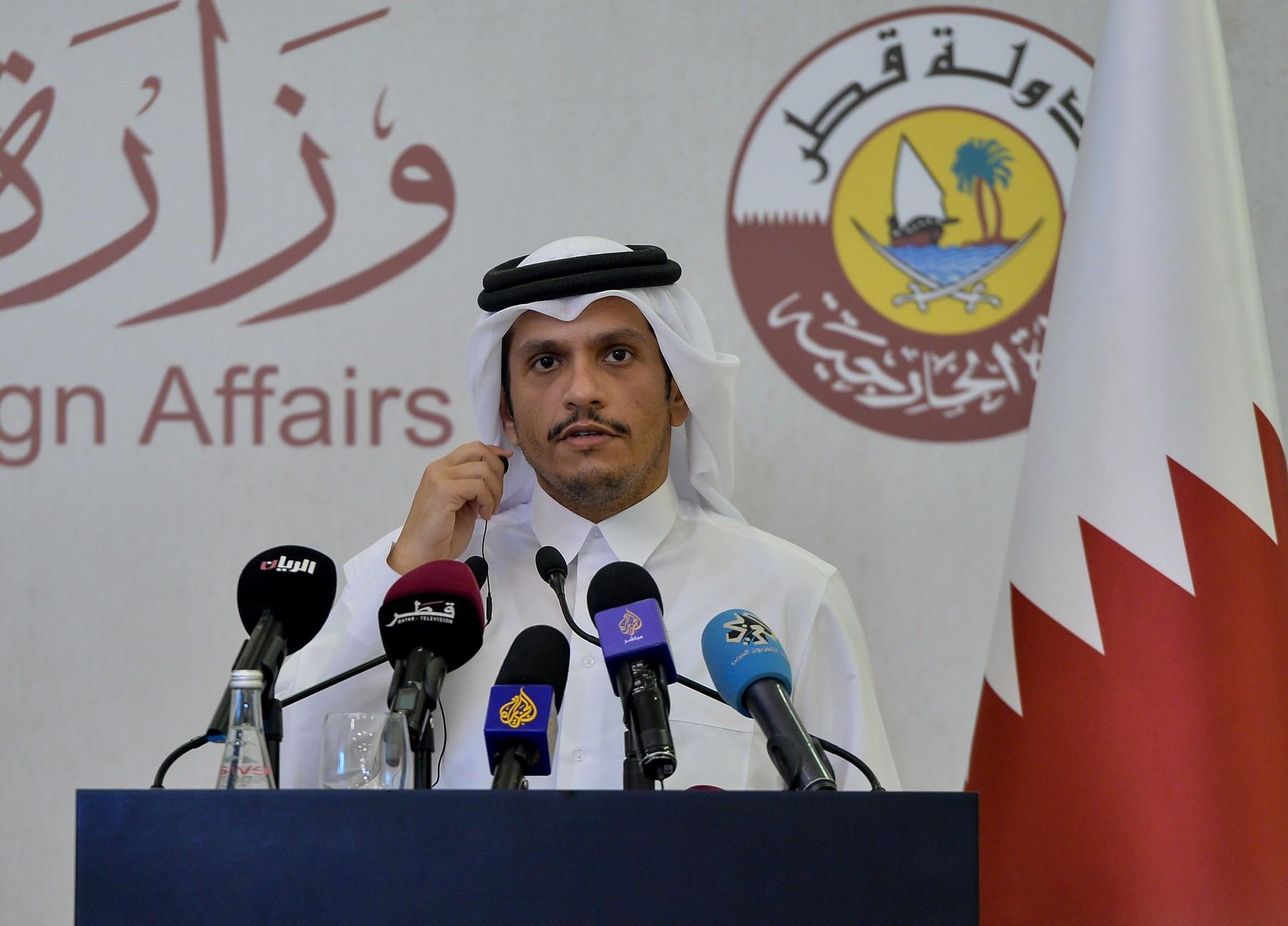 katarski ministar vanjskih poslova, šeik Mohammed bin Abdulrahman al-Thani